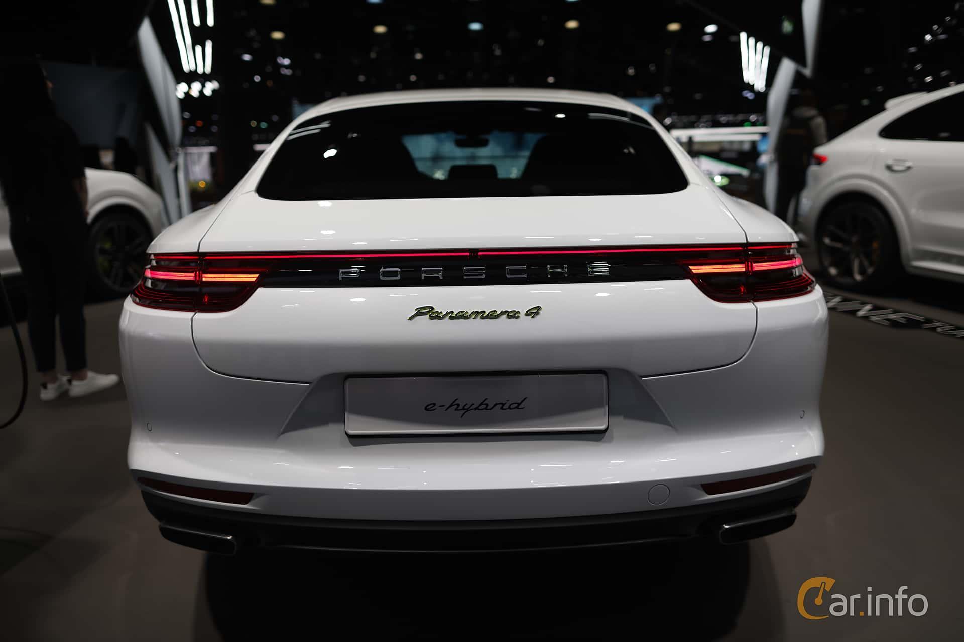 Porsche Panamera 4 E-Hybrid 2.9 V6 4 PDK, 462hp, 2020 at IAA 2019
