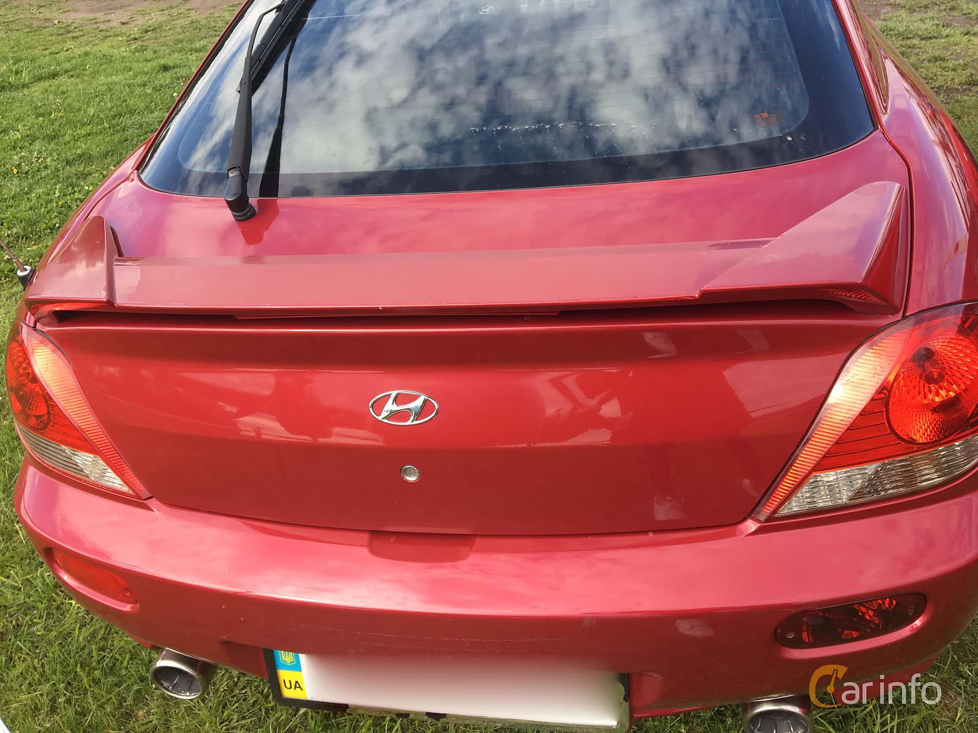 Hyundai Coupé 2.0 143hp, 2006 at Old Car Land no.1 2019