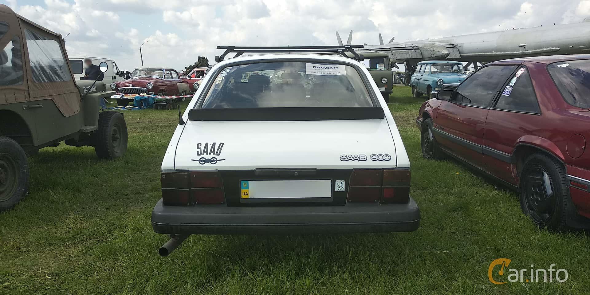 Saab 900 3-door 1985 at Old Car Land no.1 2019