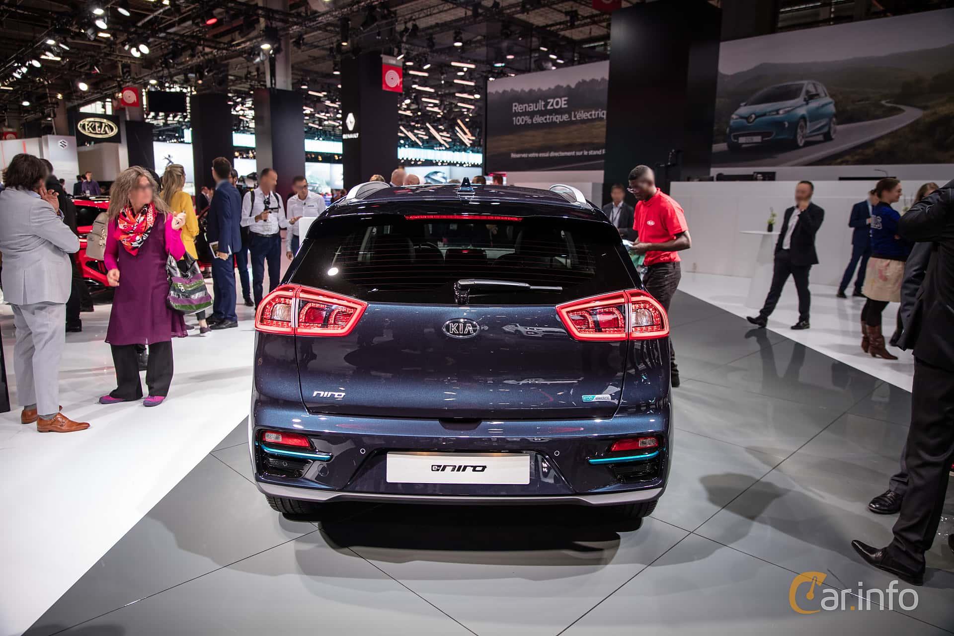 Kia e-Niro 64 kWh Single Speed, 204hp, 2019 at Paris Motor Show 2018