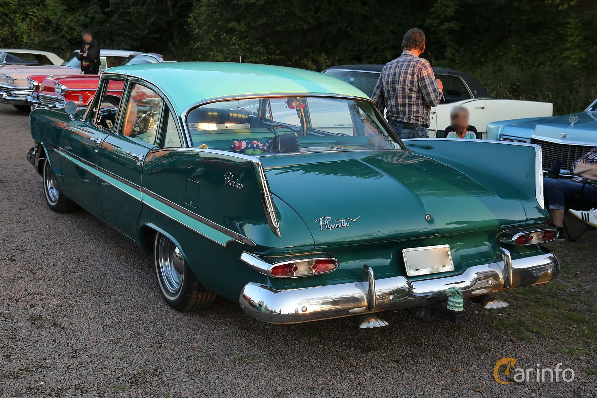 Plymouth Belvedere 4-door Sedan 5.2 V8 TorqueFlite, 233hp, 1959