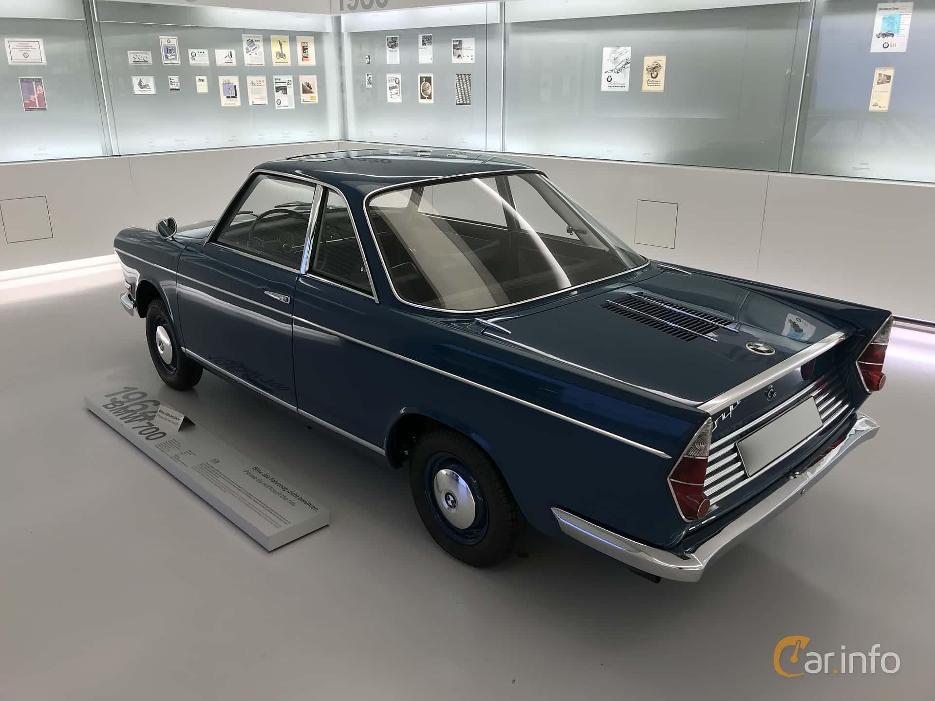 BMW 700 LS Coupé 0.7 Manual, 40hp, 1964