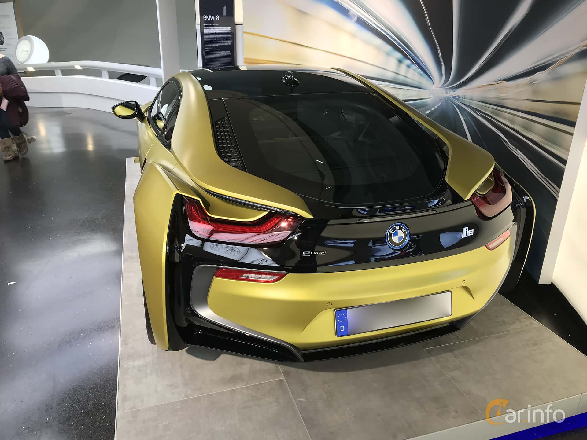 BMW i8 1.5 + 7.1 kWh Steptronic, 362hp, 2014