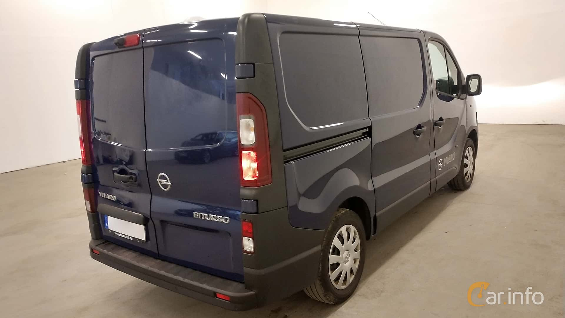 Opel Vivaro Van 1.6 CDTI BIturbo Manual, 120hp, 2015