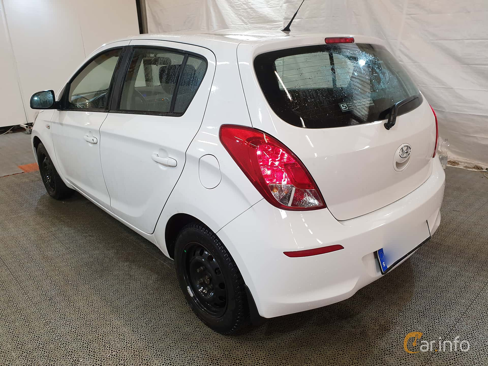 Hyundai i20 5-dörrar 1.2 Manuell, 86hk, 2013