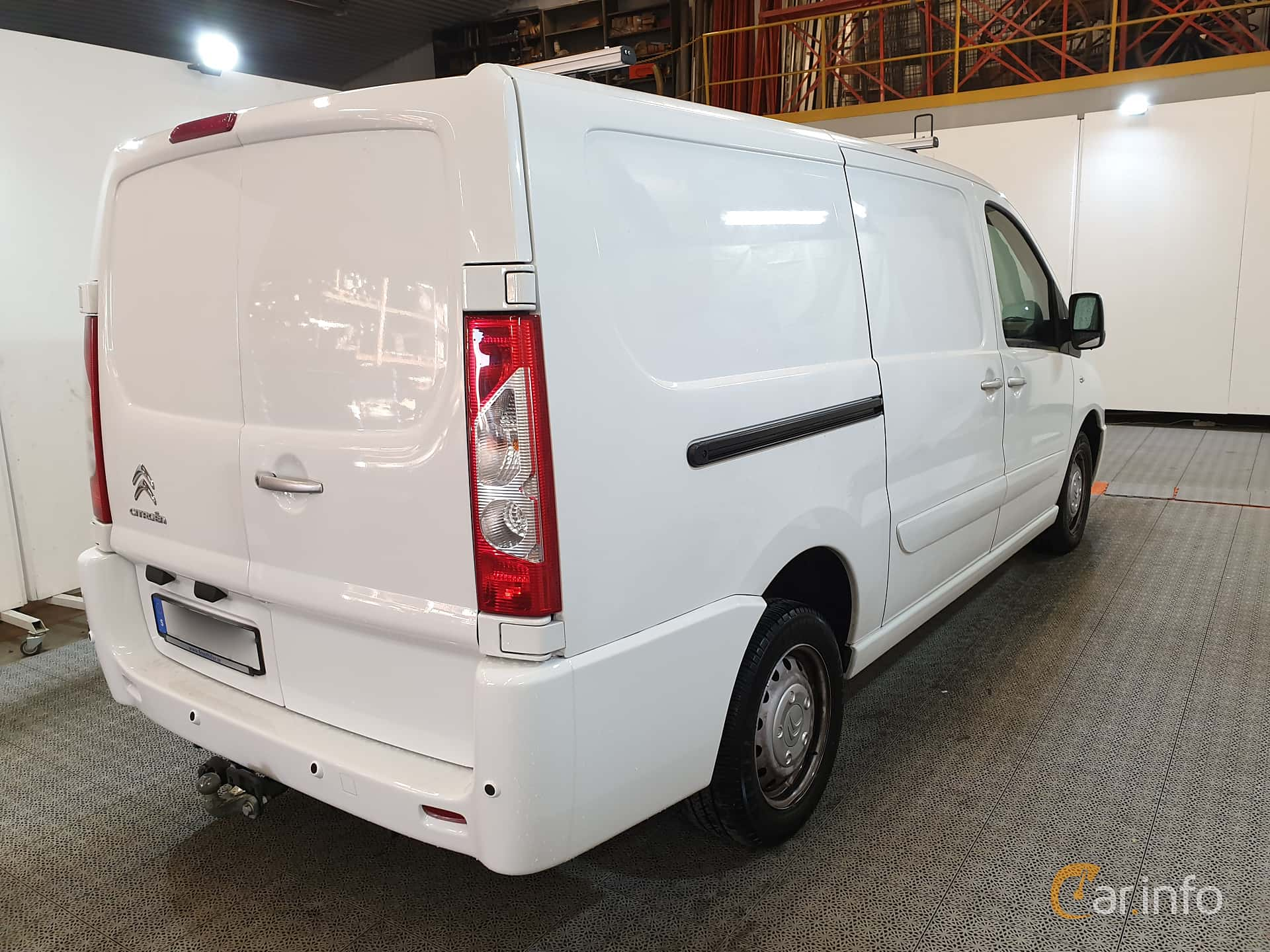 Citroën Jumpy Van 2.0 HDi Automatic, 163hp, 2016