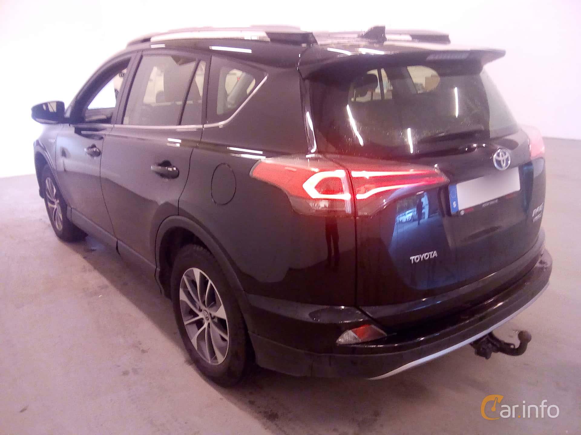Toyota RAV4 Hybrid E-FOUR 2.5 i-AWD ECVT, 197hp, 2017