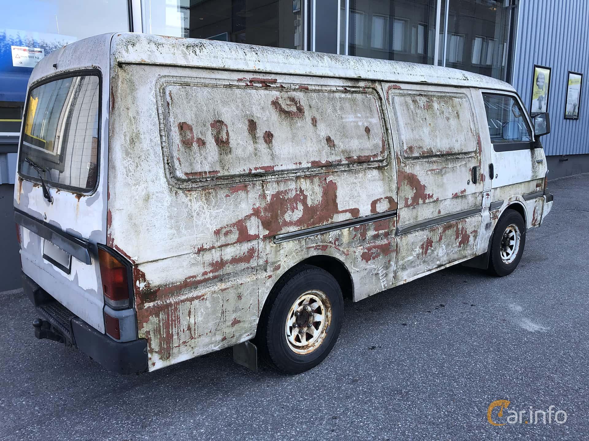 Back/Side of Mazda Bongo Van 1.8 Manual, 82ps, 1988