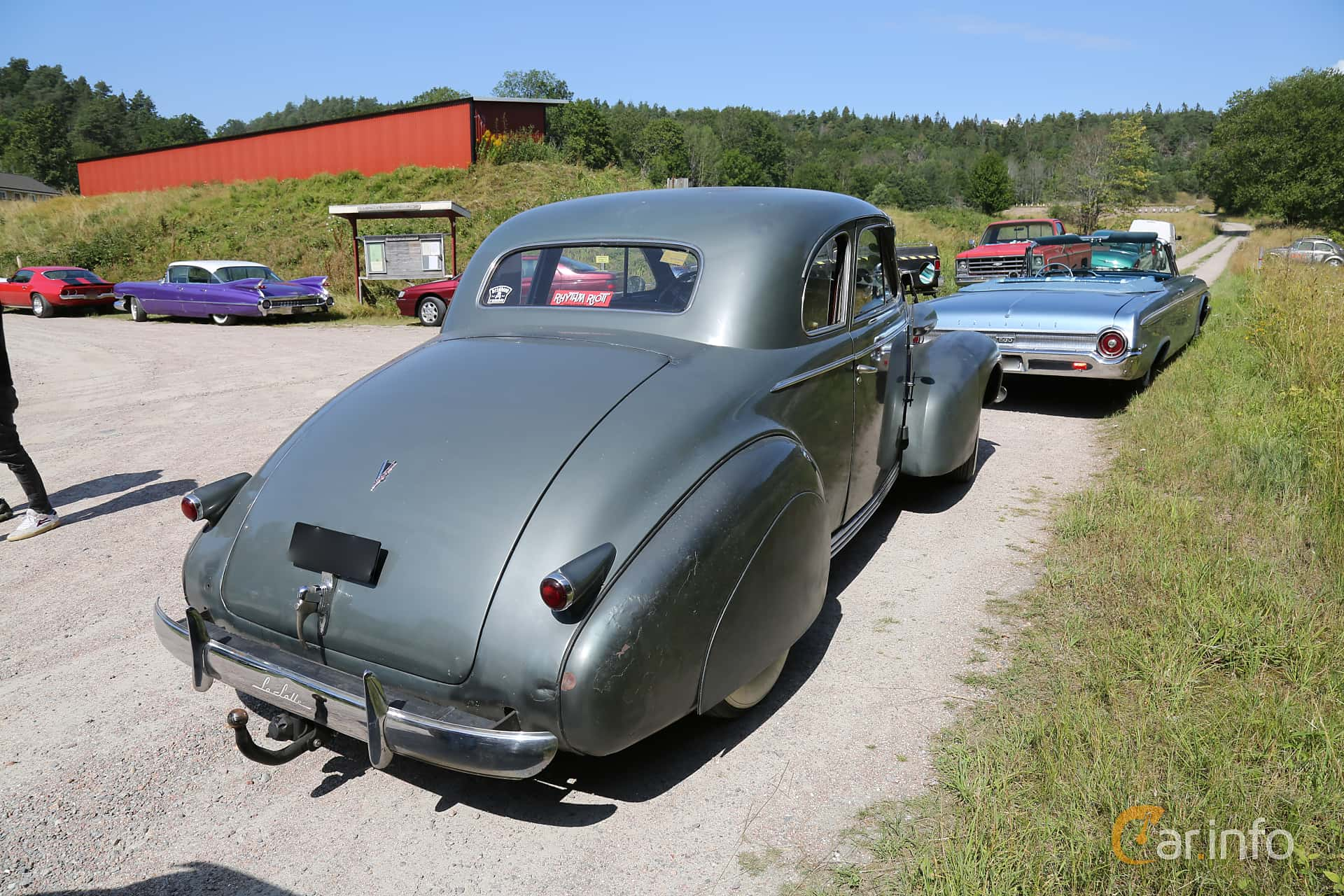 Cadillac LaSalle Coupé 5.3 Manual, 125hp, 1939 at A-bombers - Old Style Weekend Backamo 2019