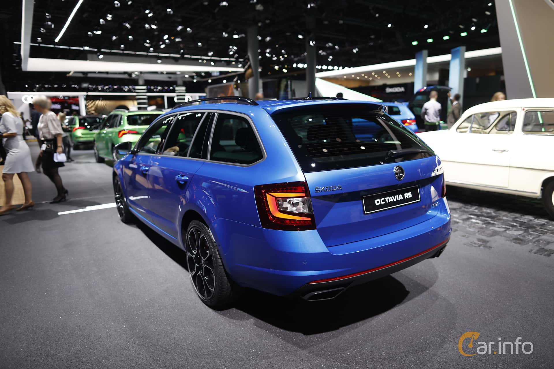 Skoda Octavia RS Combi 2.0 TSI Manual, 245hp, 2020 at IAA 2019