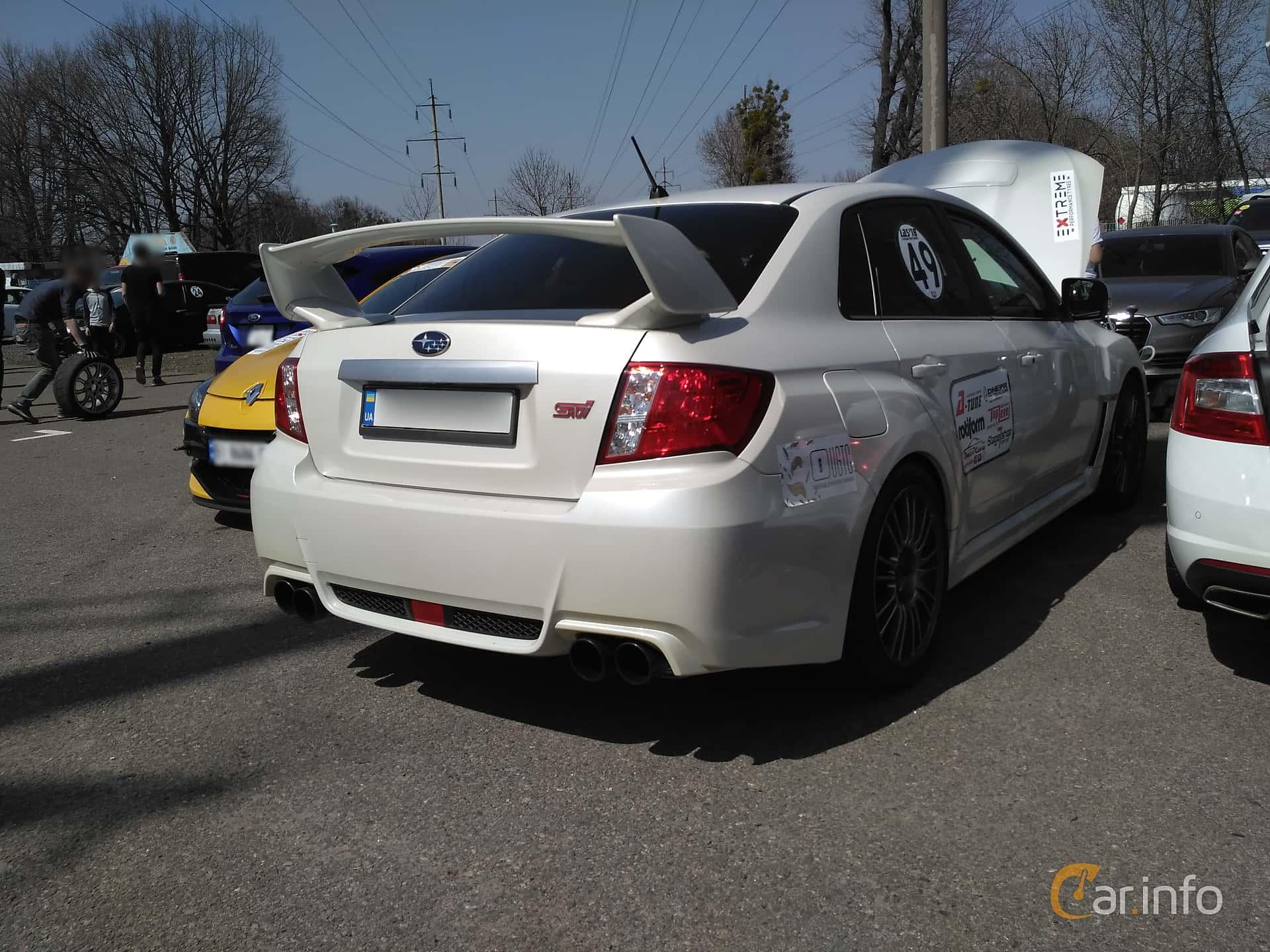 Subaru WRX STi Sedan 2.5 4WD Manuell, 300hk, 2007 at Ltava Time Attack 1st Stage