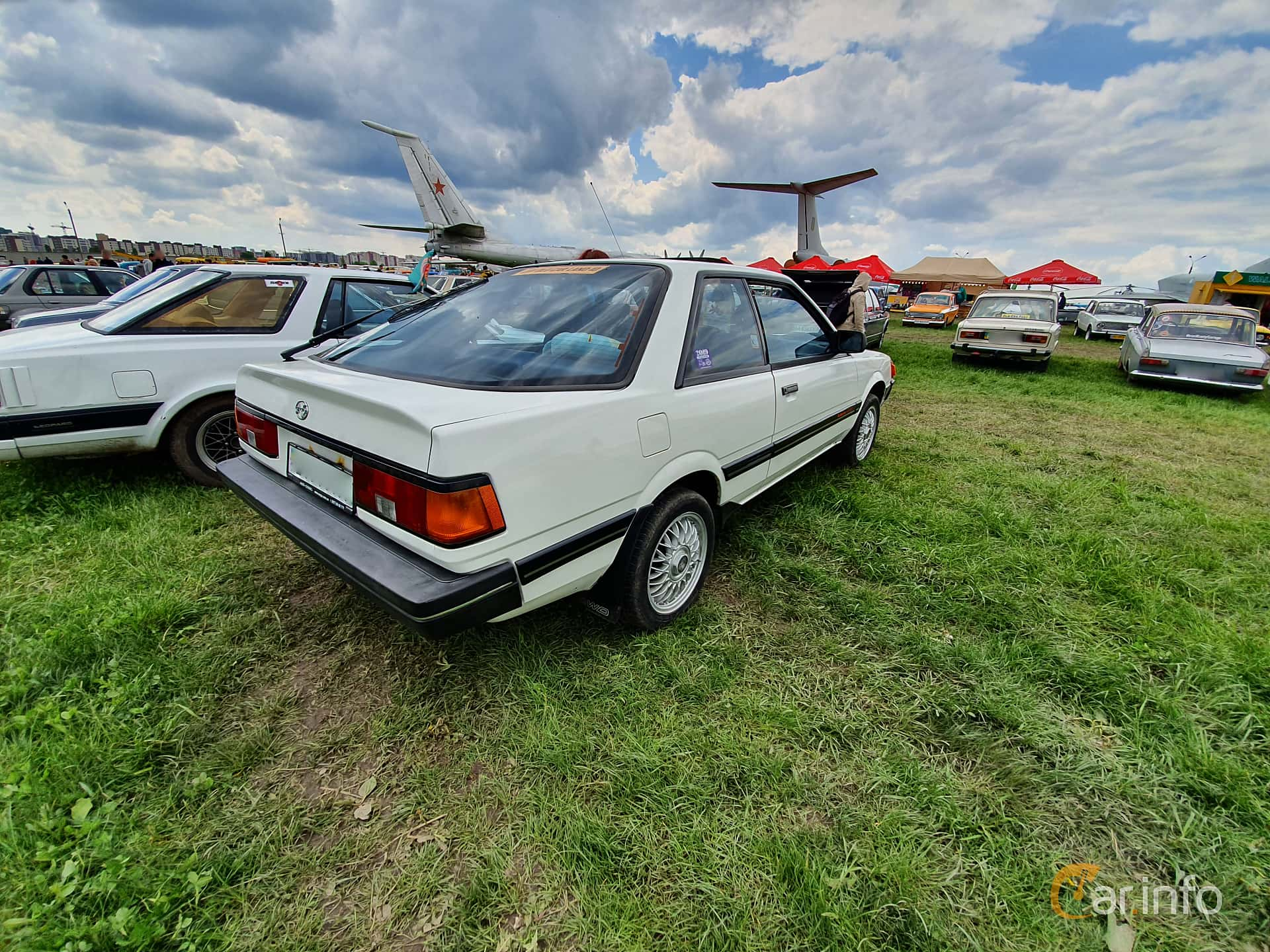 Subaru Leone Coupé 1.8 4WD Automatic, 98hp, 1986 at Old Car Land no.1 2019