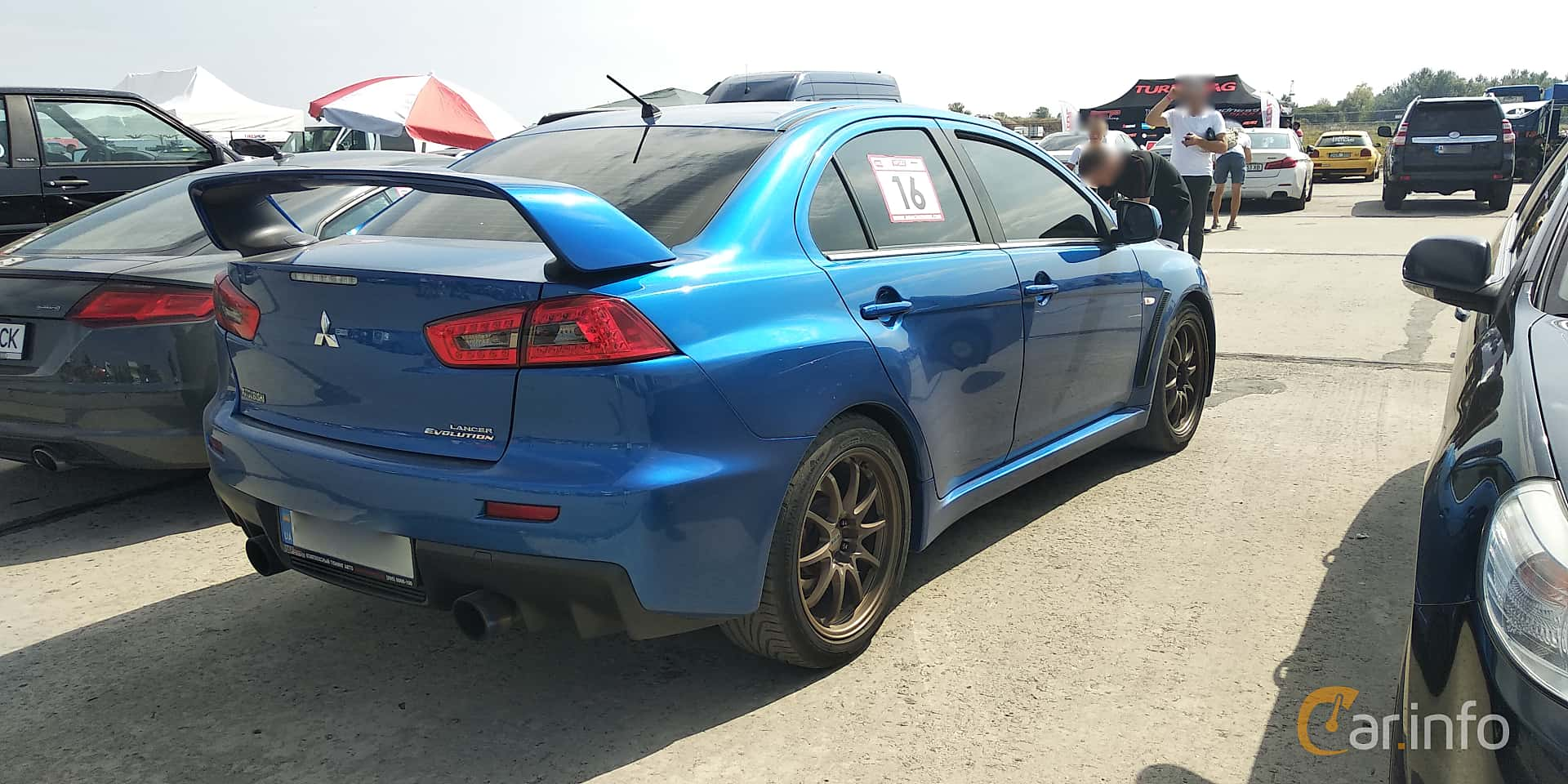 Mitsubishi Lancer Evolution 2.0 4WD DSG Sequential, 295hp, 2008 at Proudrs Drag racing Poltava 2019