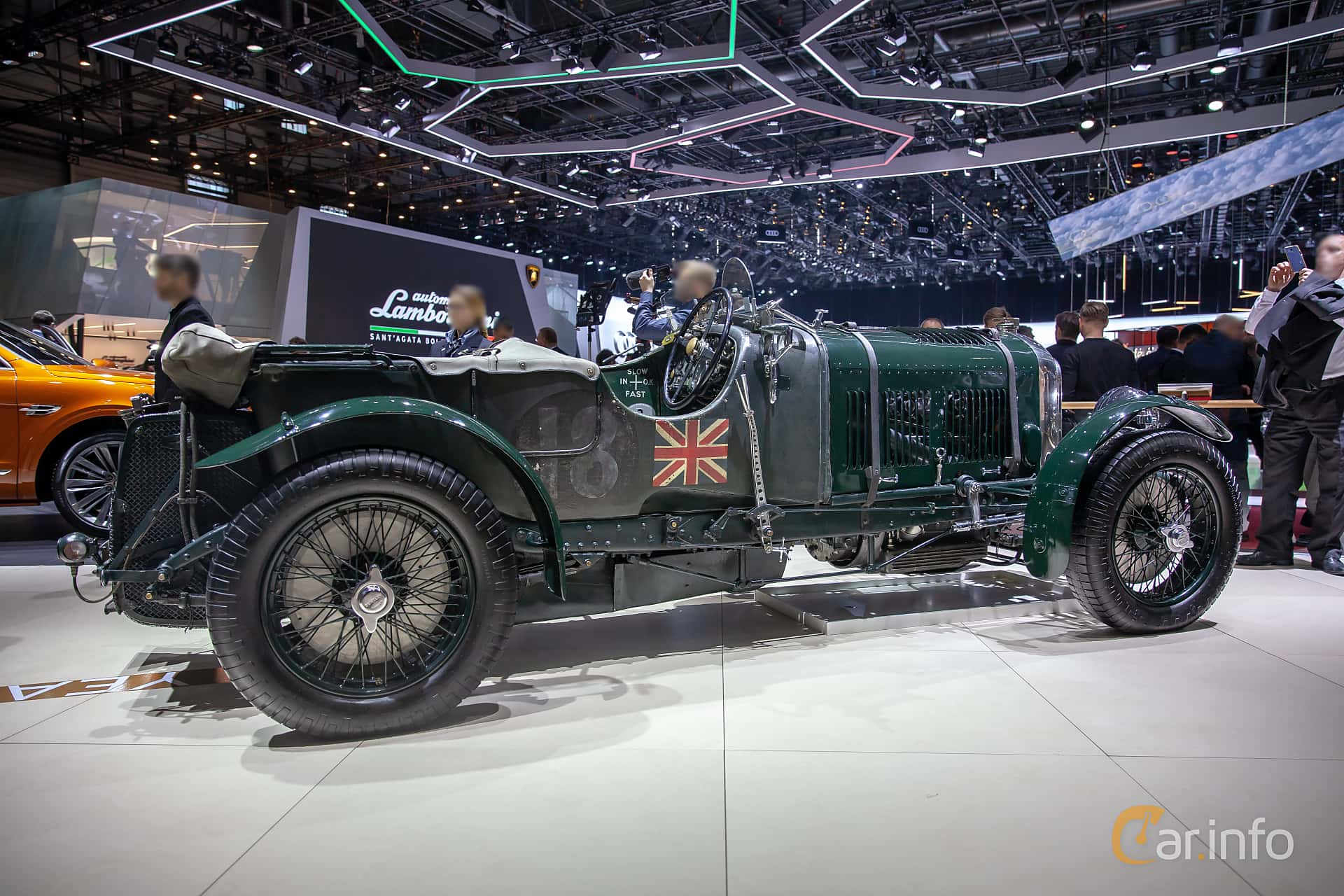 Bentley 4.5 Litre Cabriolet 4.4 Manual, 110hp, 1930 at Geneva Motor Show 2019