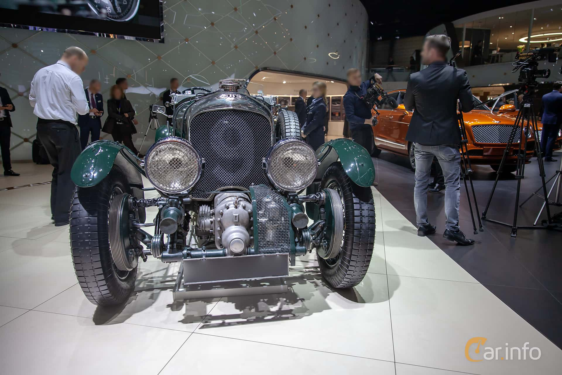 Bentley 4.5 Litre Cabriolet 4.4 Manual, 110hp, 1930 at Geneva Motor Show 2019