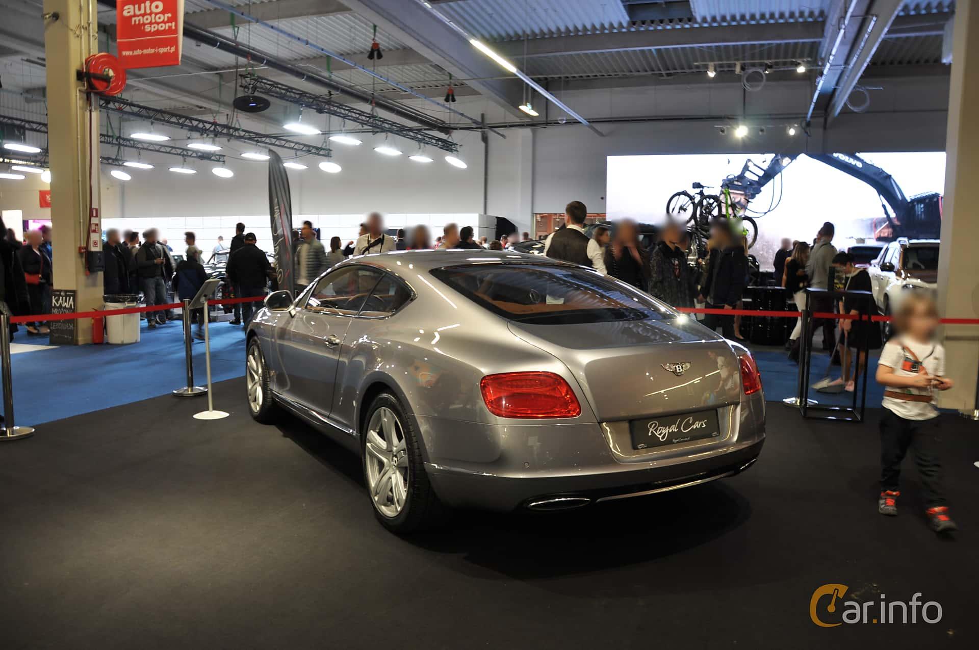 Bentley Continental GT 6.0 W12 Automatic, 575hp, 2011 at Warsawa Motorshow 2018