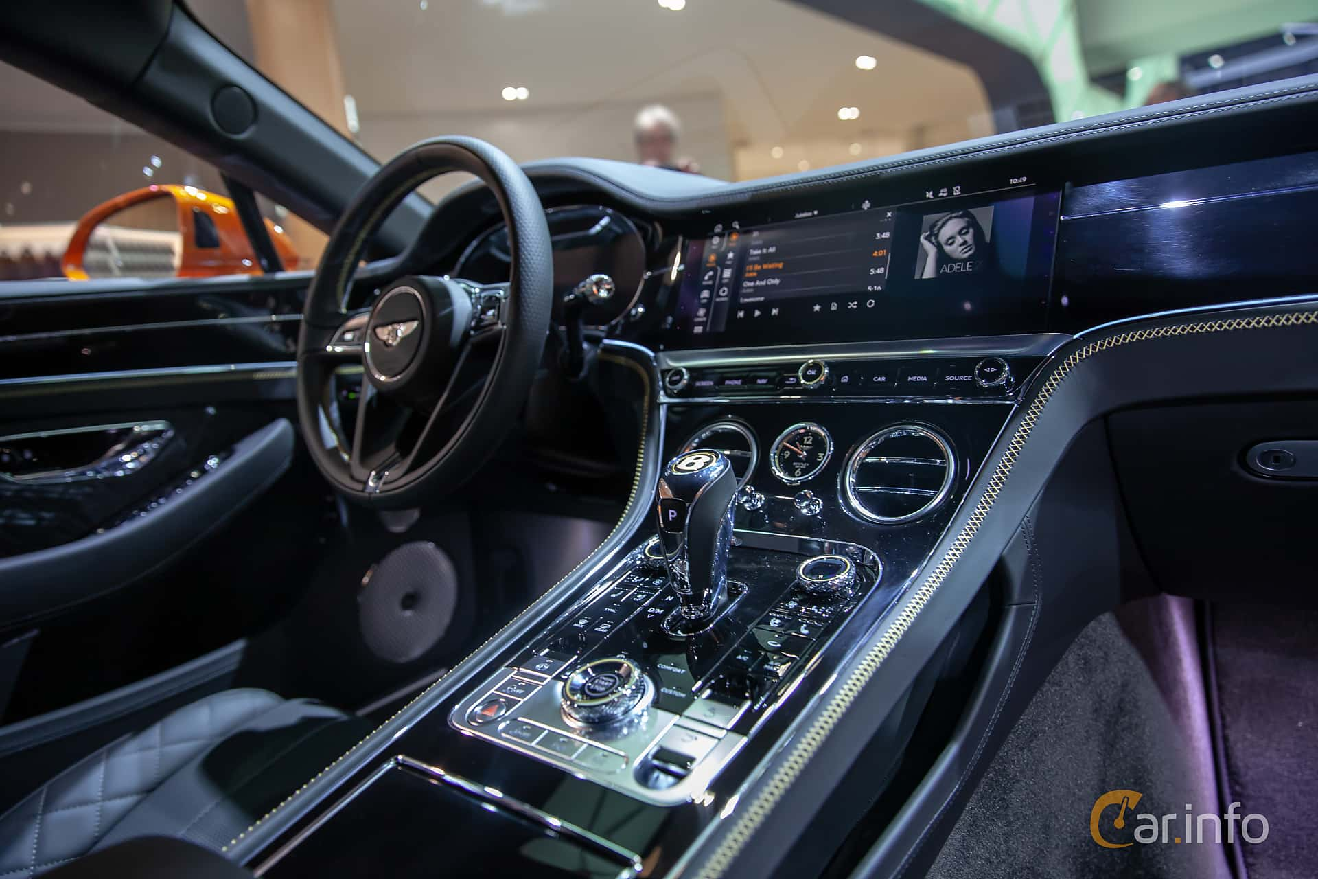 Bentley Continental GT 6.0 W12 TSI DCT, 635hp, 2019 at Geneva Motor Show 2019