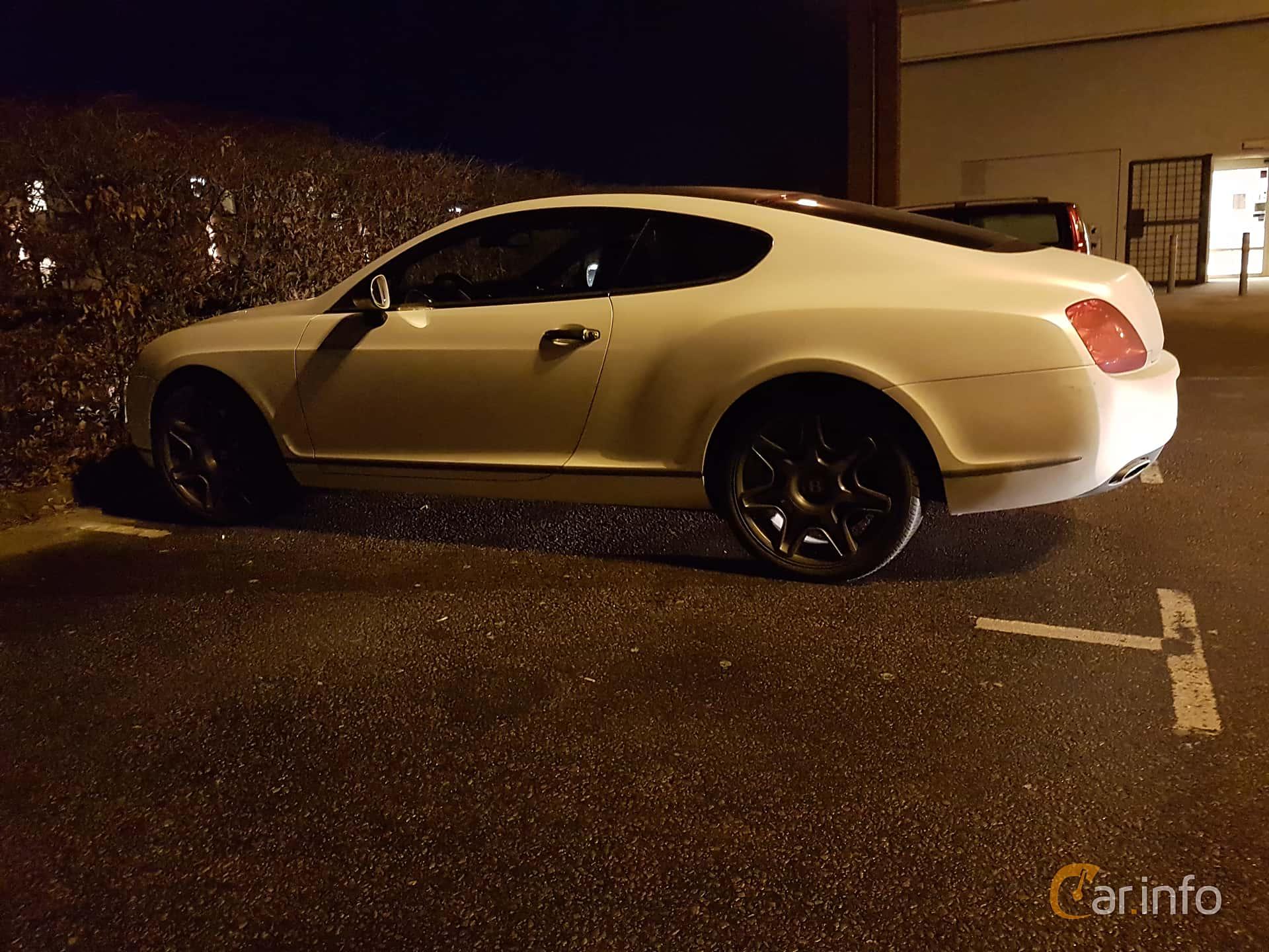 Bentley Continental GT 6.0 W12 Automatisk, 560hk, 2008