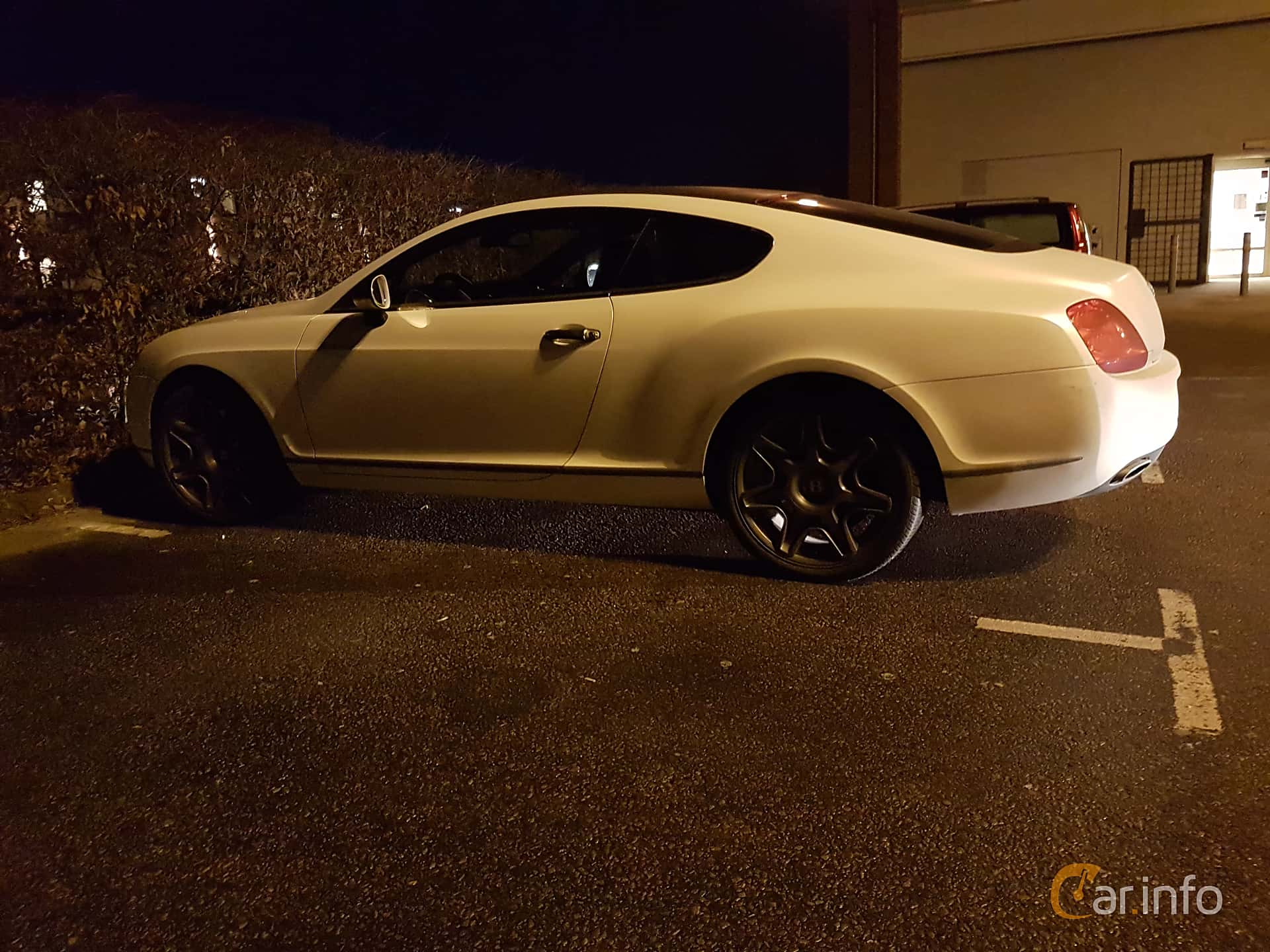 Sida av Bentley Continental GT 6.0 W12 Automatic, 560ps, 2008