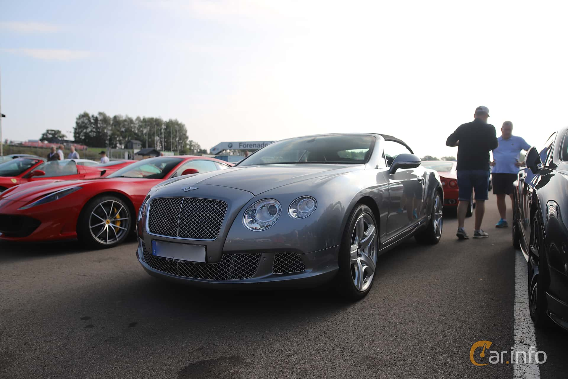 Front/Side  of Bentley Continental GT Convertible 6.0 W12 Automatic, 575ps, 2012 at Autoropa Racing day Knutstorp 2019
