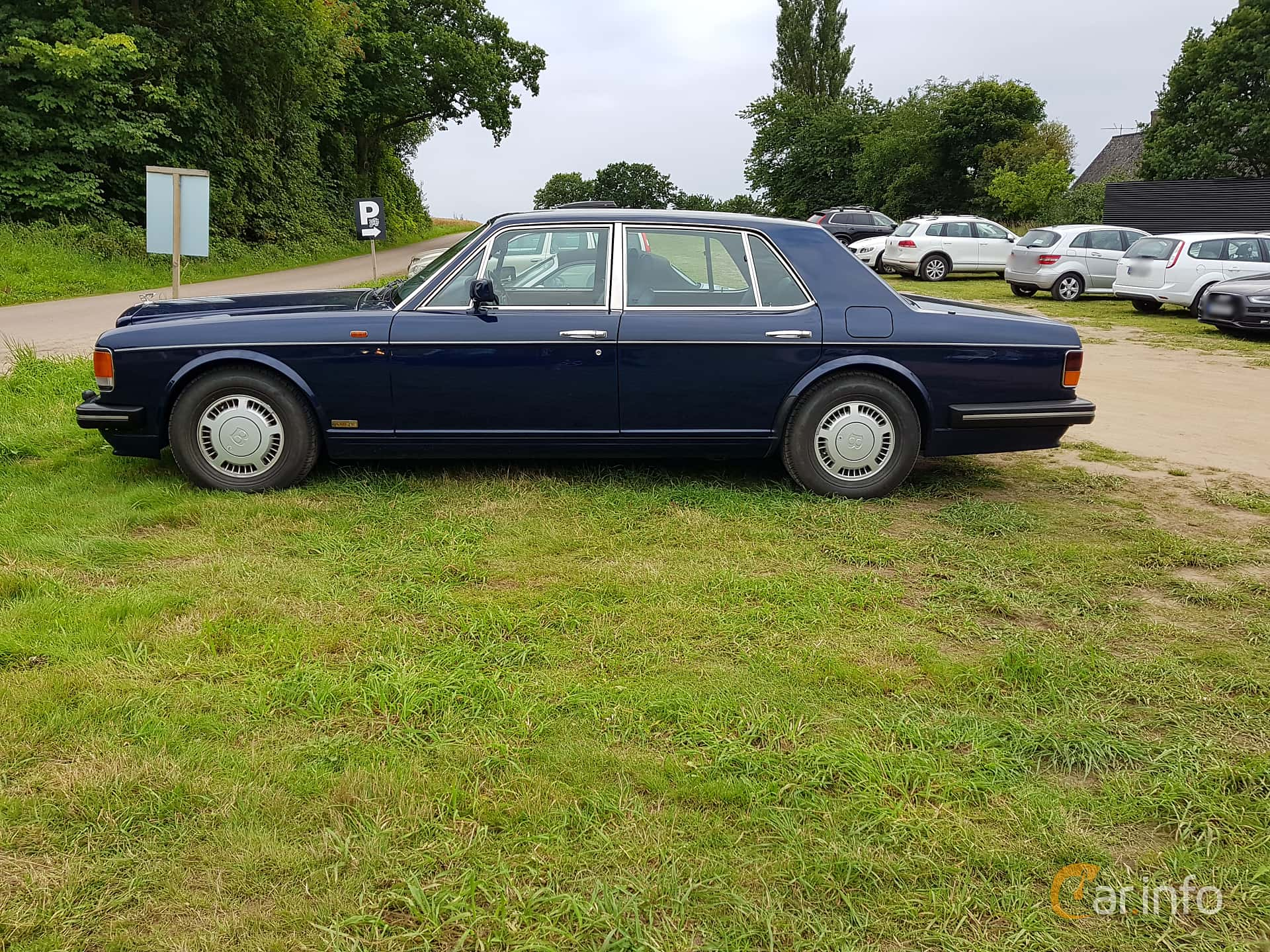 Bentley Turbo R 6.75 V8 Automatic, 313hp, 1990