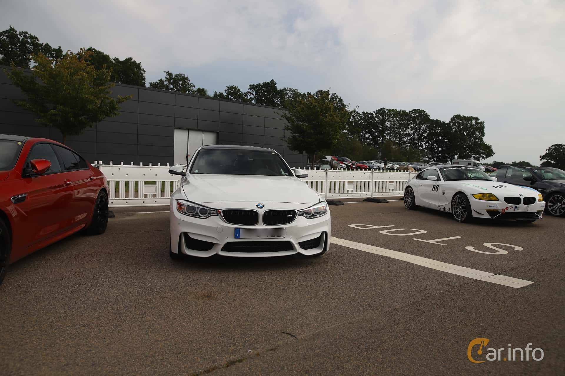 BMW M3  DCT, 431hp, 2017 at Autoropa Racing day Knutstorp 2019