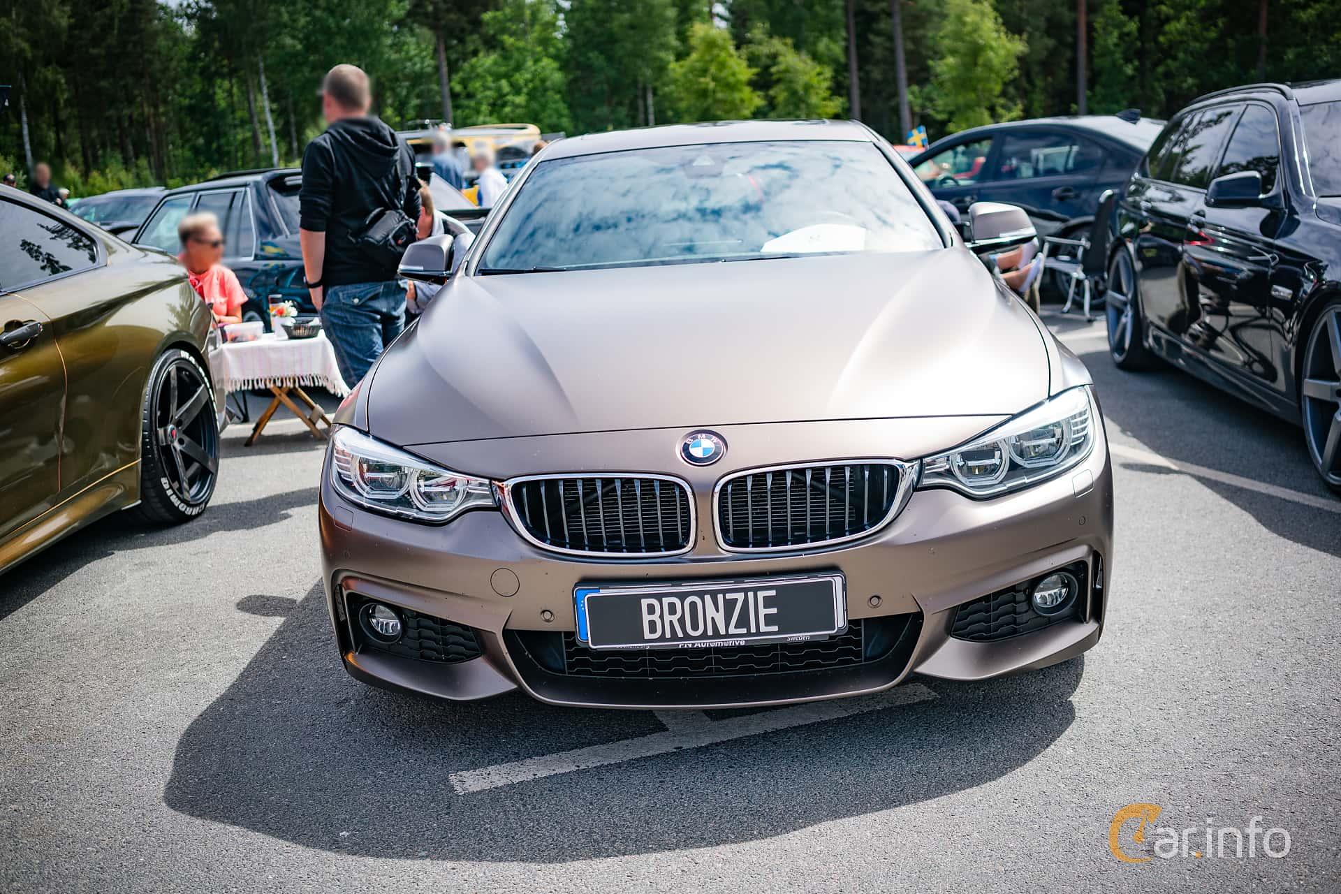 BMW 3 Series Sedan 2012 at Biltema Meet, Växjö 2018