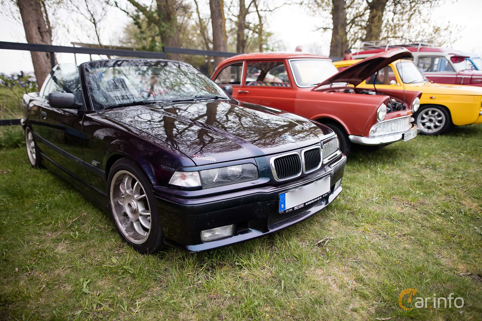 Bmw 318i Convertible 115hp 1995 Generation E36 Facelift