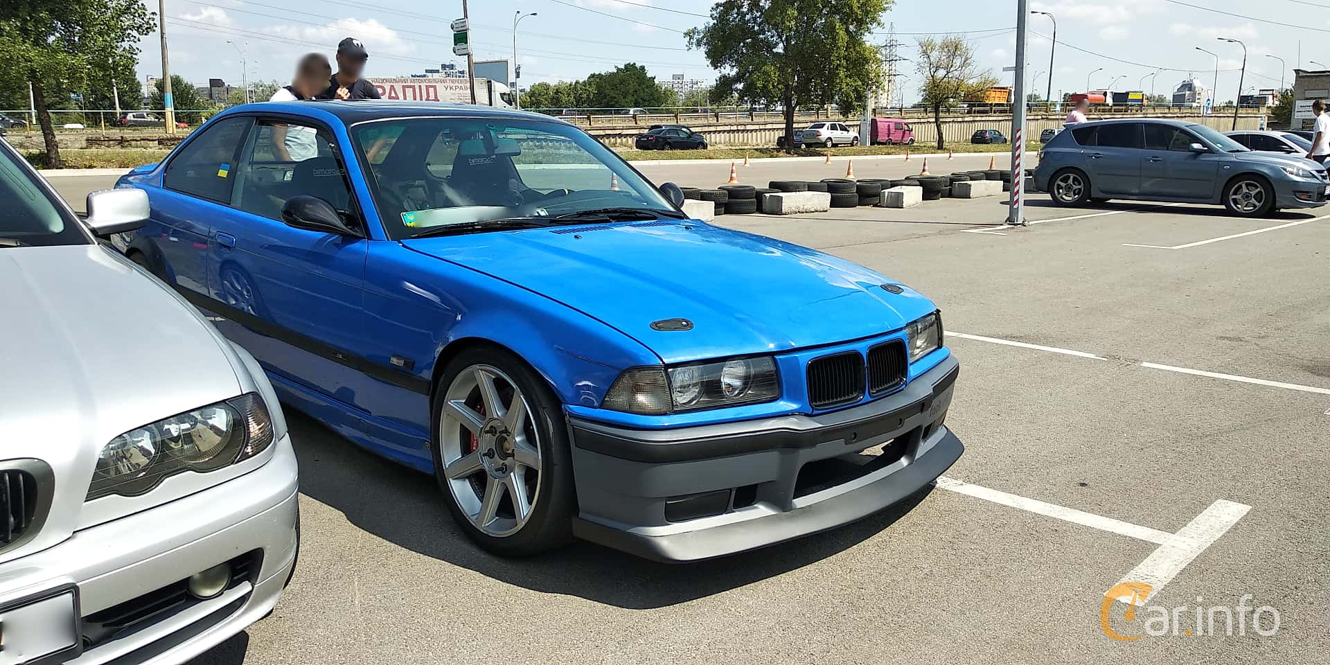 Front Side Of Bmw 3 Series Coupe 1992 At Car Gathering Jdm 2019