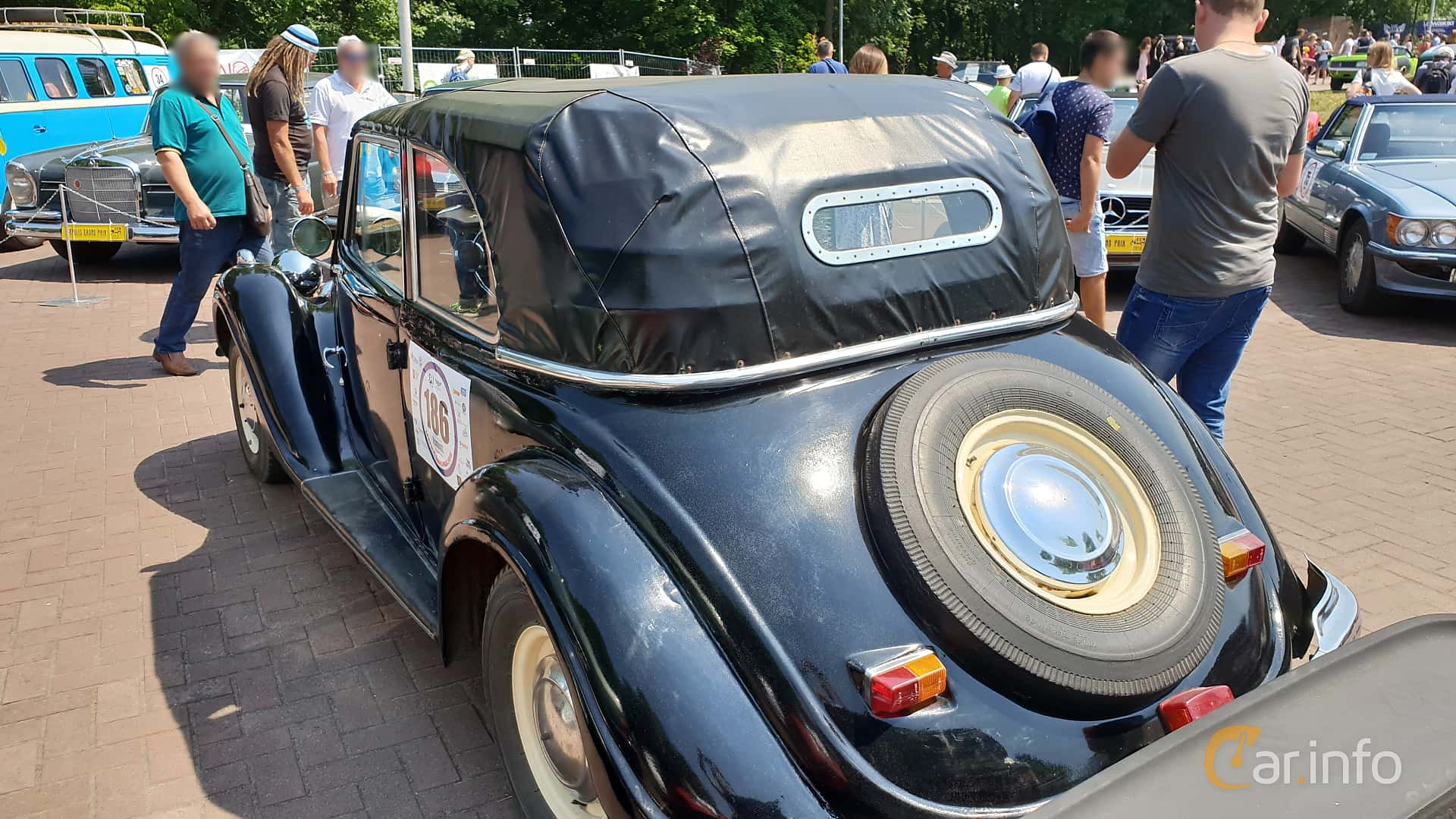 BMW 321 Cabriolet 2.0 Manual, 45hp, 1939 at Leopolis Grand Prix 2018