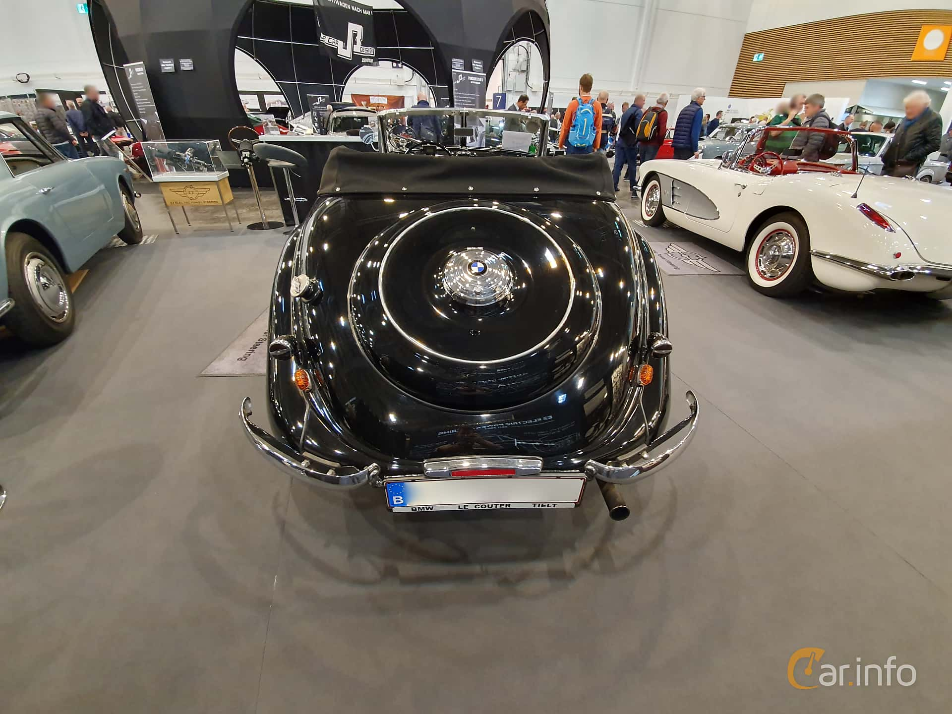 BMW 328 2.0 Manual, 80hp, 1937 at Techno Classica Essen 2019