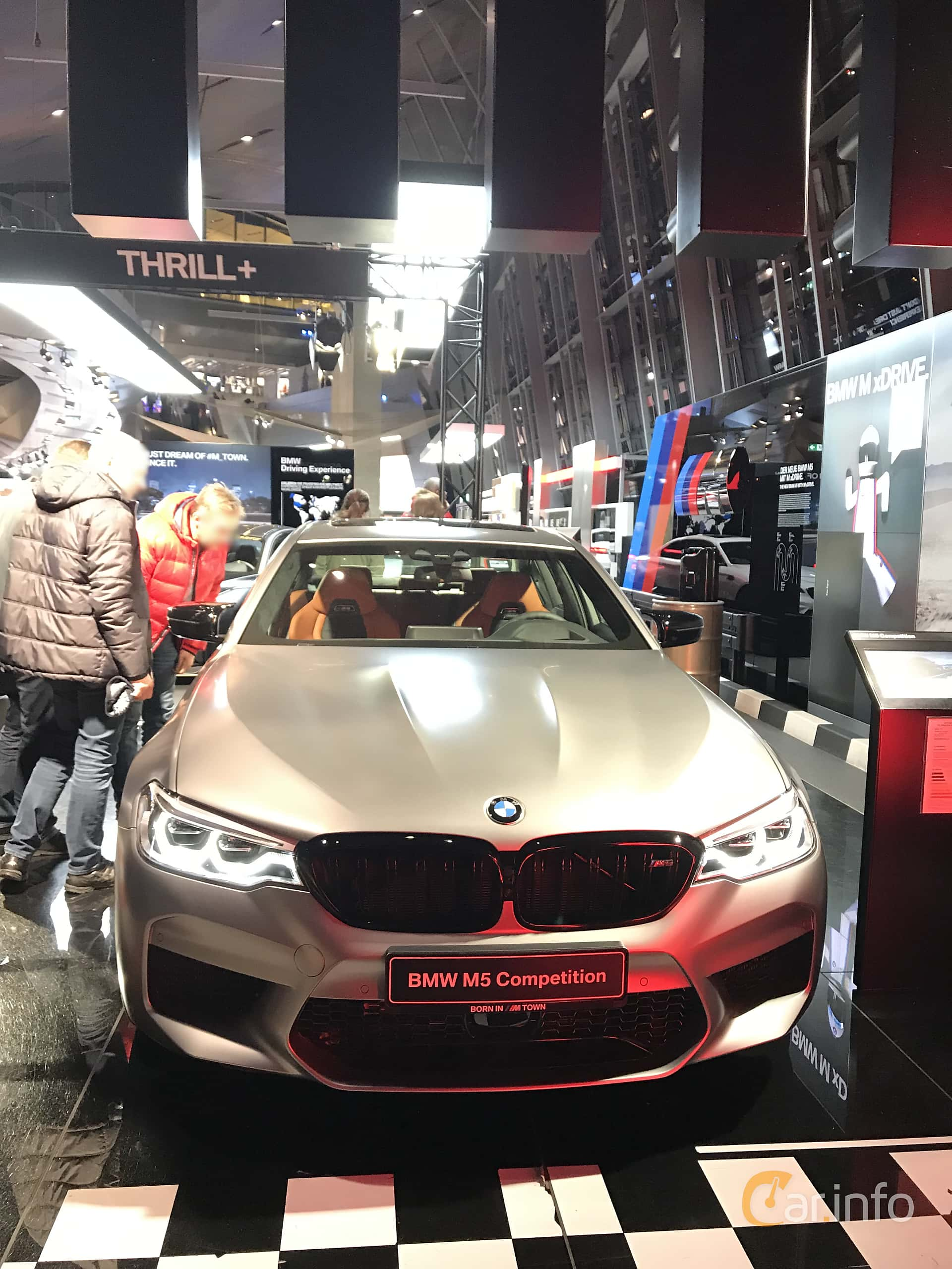 Front  of BMW M5 Competition  Steptronic, 625ps, 2019