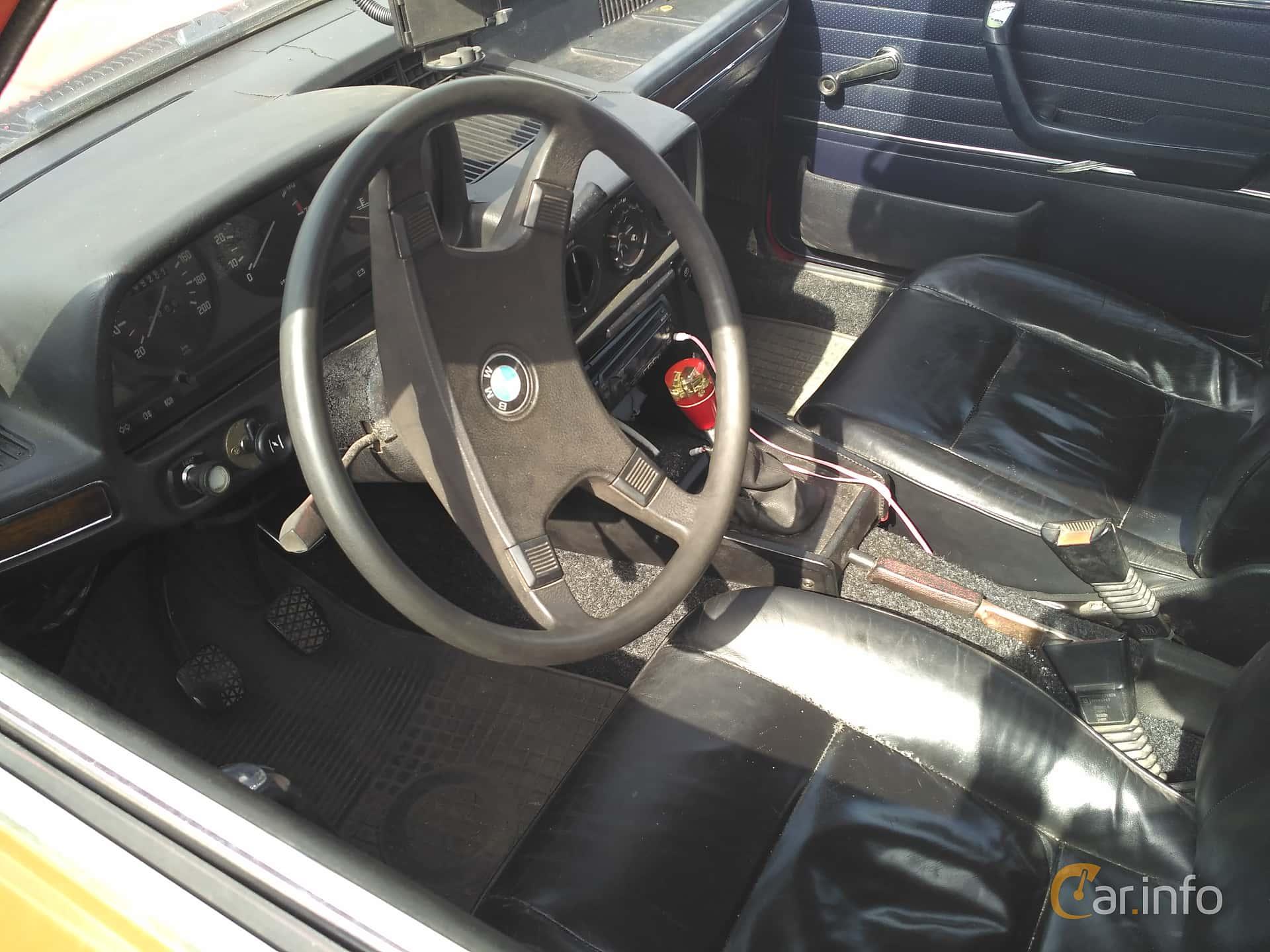 Interior Of Bmw 5 Series Sedan 1976 At Old Car Land No1 2017