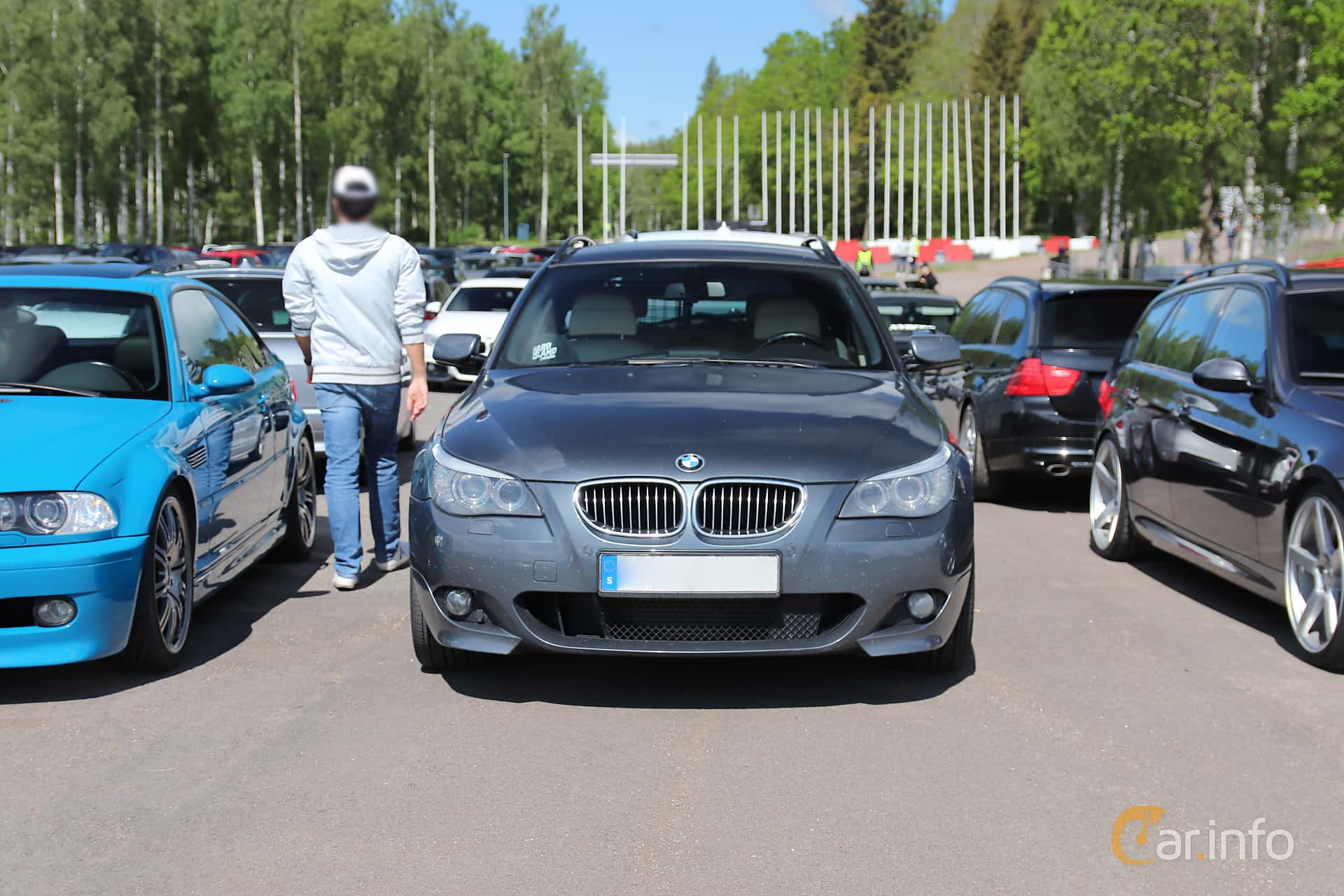 2 images of BMW 535d Touring Steptronic, 286hp, 2007 by Jarbo