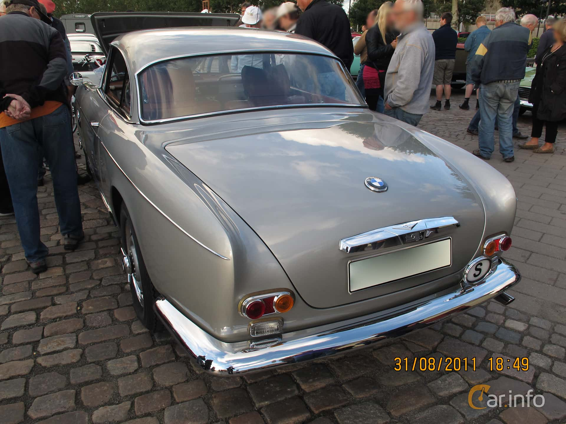 BMW 503 3.2 V8 Manual, 140hp, 1960
