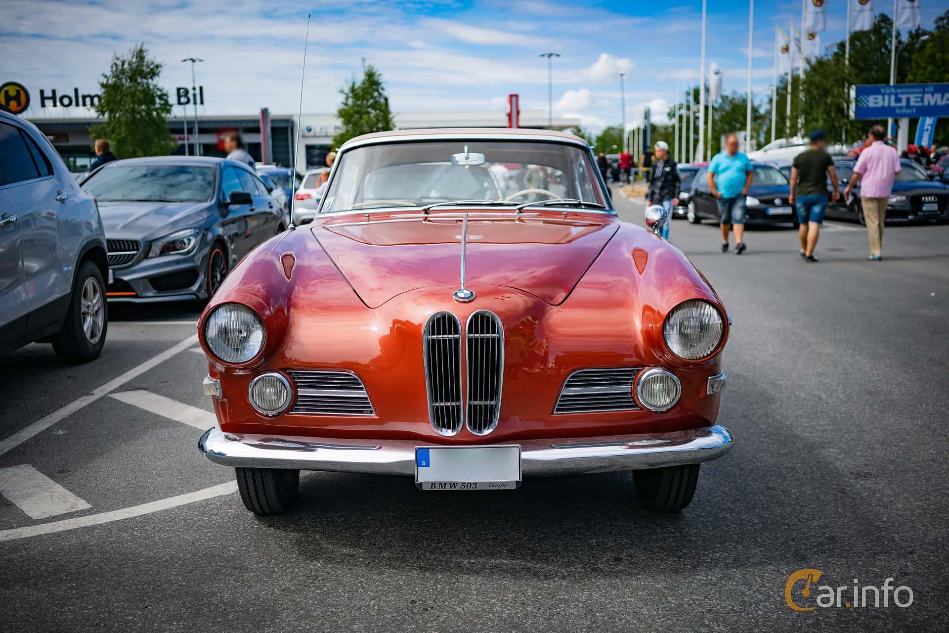 BMW 503 3.2 V8 Manual, 140hp, 1957 at Biltema Meet, Växjö 2018