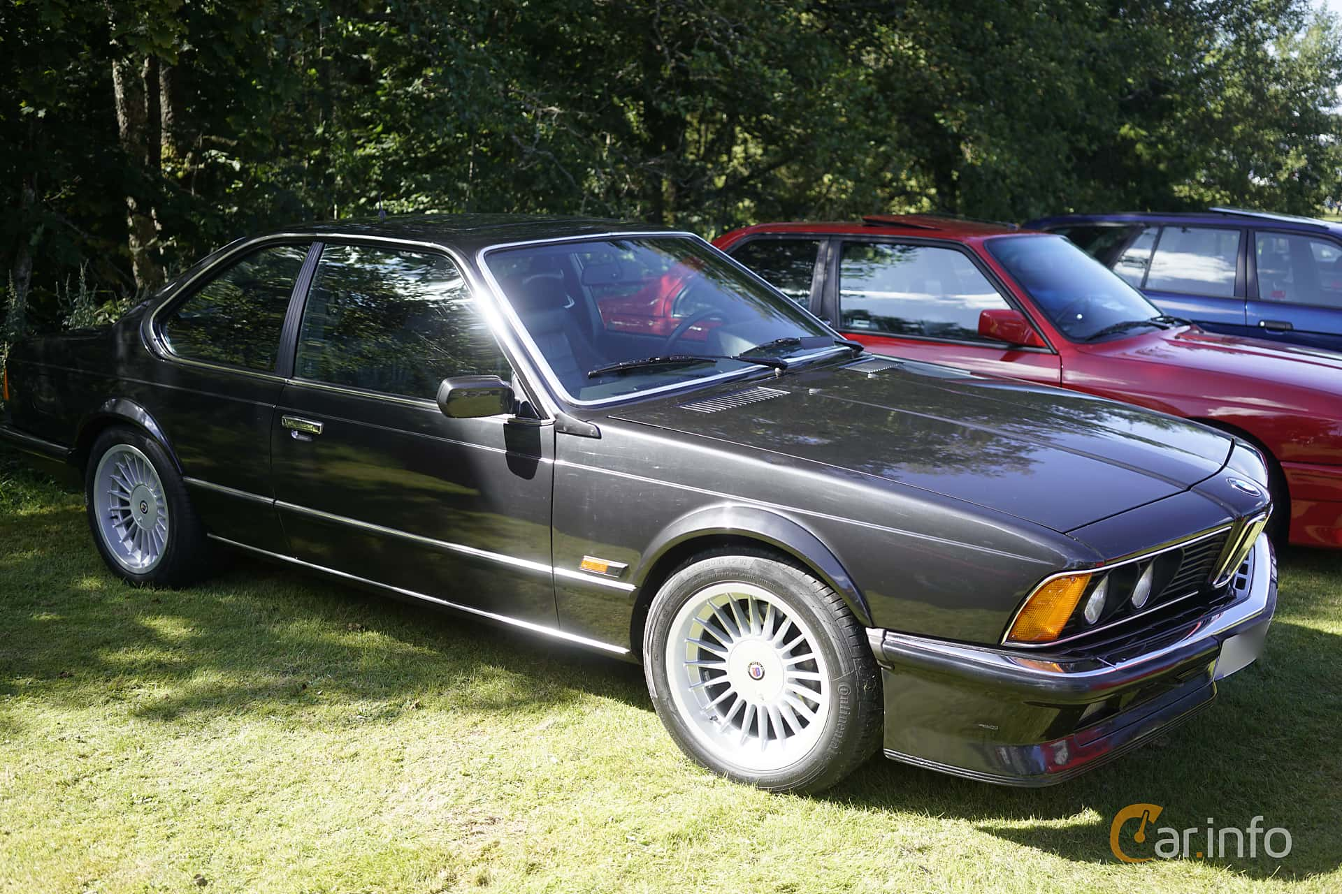 BMW M635CSi  Manual, 286hp, 1984 at Anderstorp Sportbilsfestival 2017