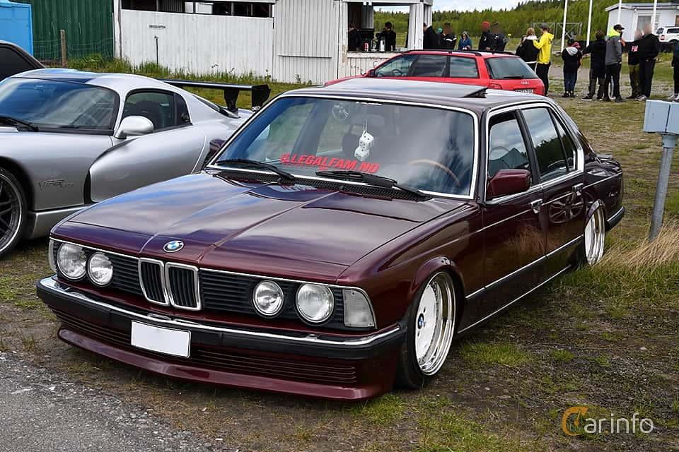 BMW 745i  Automatic, 252hp, 1984