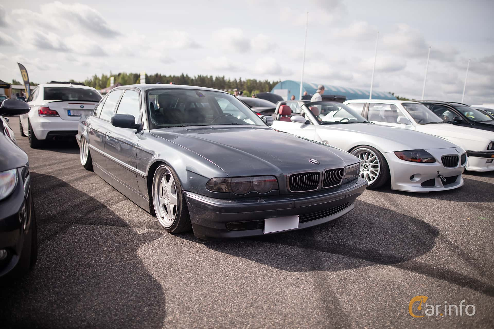 BMW 740i  Automatic, 286hp, 1999 at Bimmers of Sweden @ Mantorp 2016