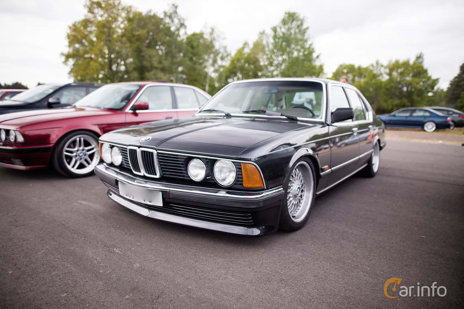 BMW 745i 34 Automatic 252hp 1986 At Bimmers Of Sweden Mantorp 2016
