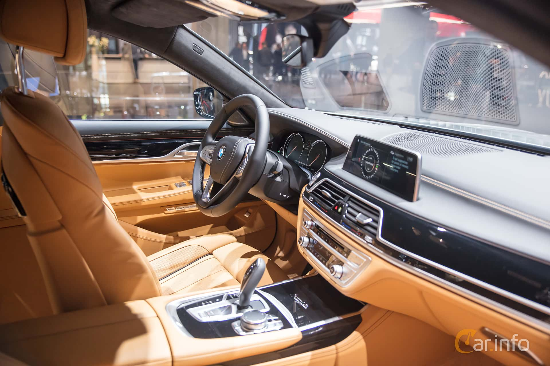 Interior Of BMW 730d 30 Steptronic 265ps 2018 At IAA 2017