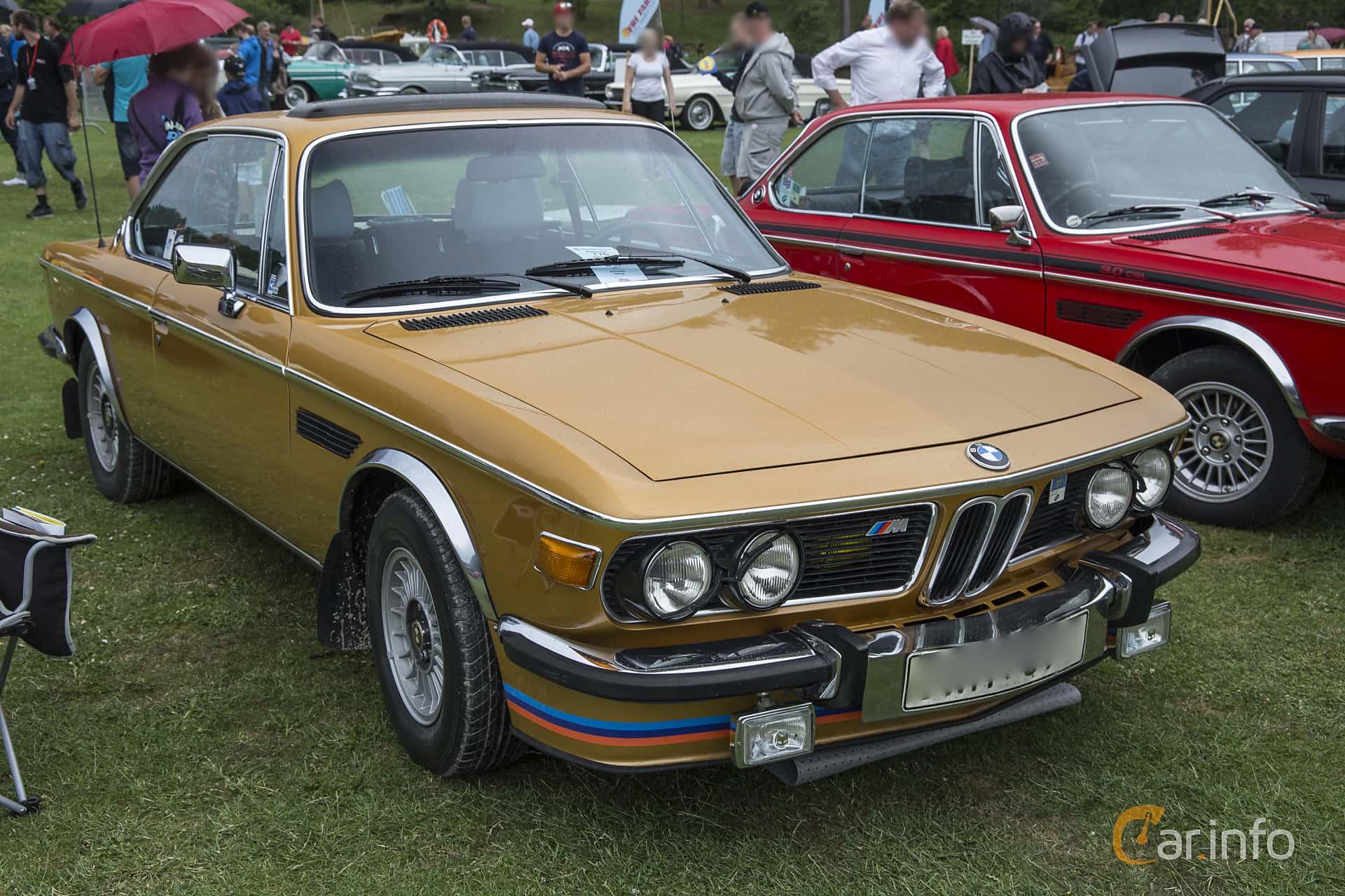 BMW 3.0 CS  Manual, 180hp, 1974 at Ronneby Nostalgia Festival 2016