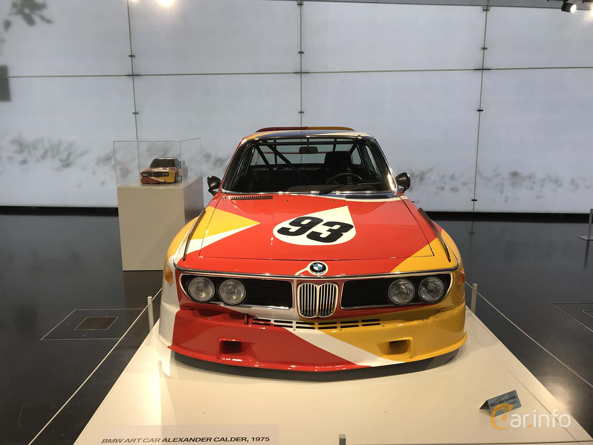 Front  of BMW 3.0 CSL Group 5  Manual, 487ps, 1975