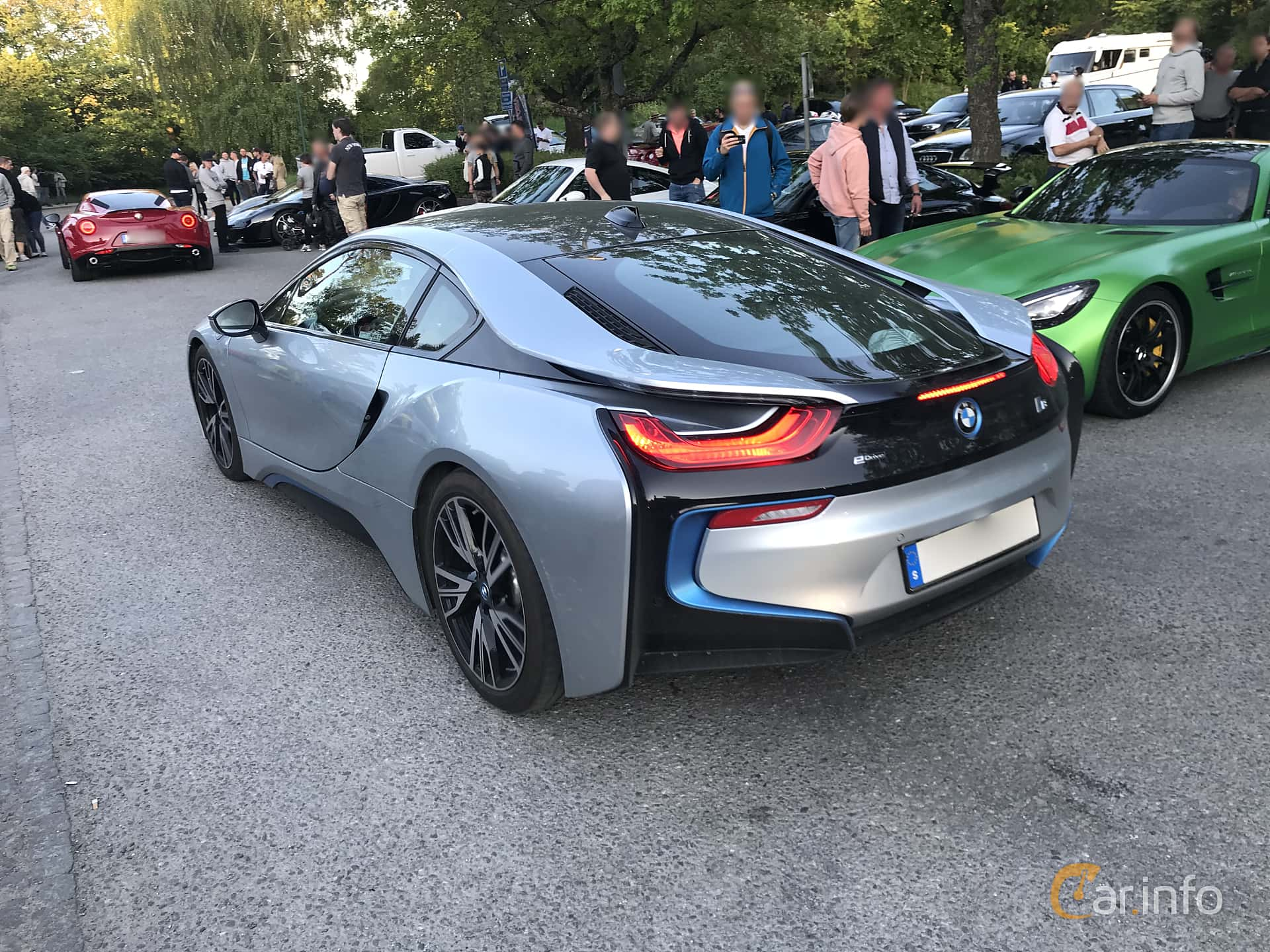 2 Images Of Bmw I8 1 5 7 1 Kwh Steptronic 362hp 2015 By Mats