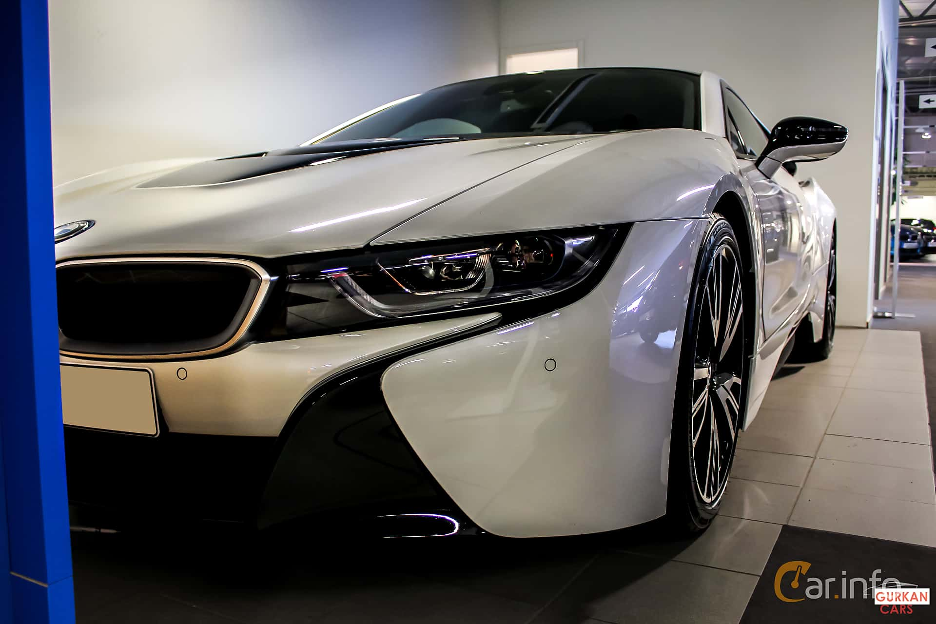 BMW i8 1.5 + 7.1 kWh Steptronic, 362hk, 2014