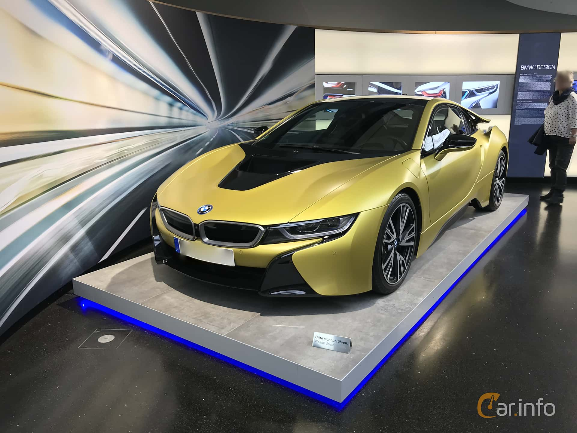 BMW i8 1.5 + 7.1 kWh Steptronic, 362hp, 2014
