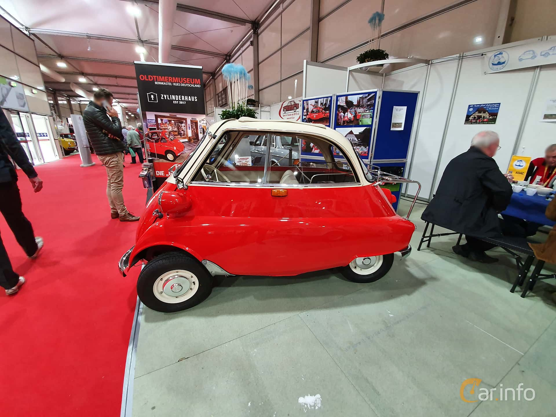 BMW Isetta 250  Manual, 12hp, 1955 at Techno Classica Essen 2019