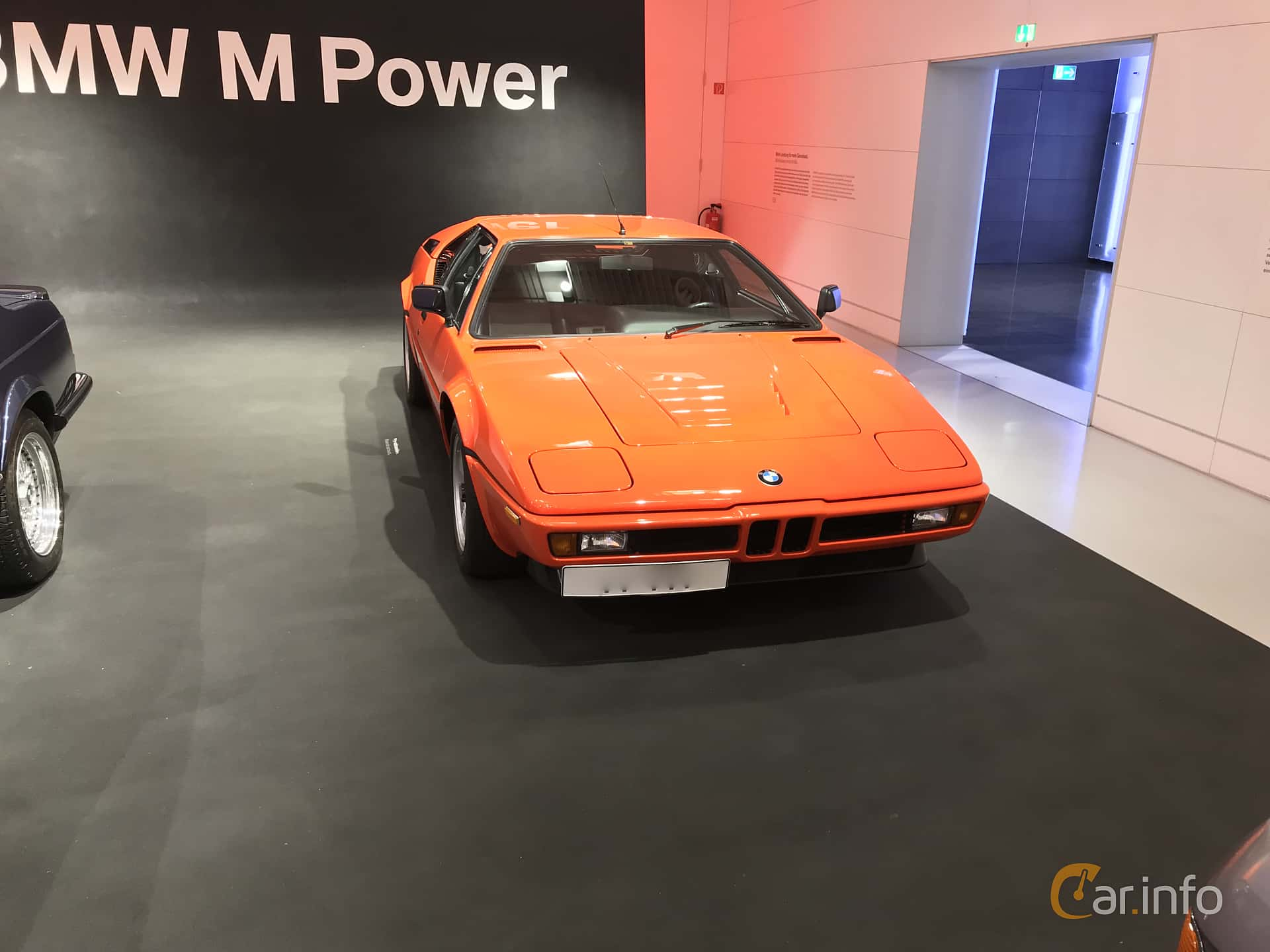 BMW M1 3.5 Manual, 277hp, 1979