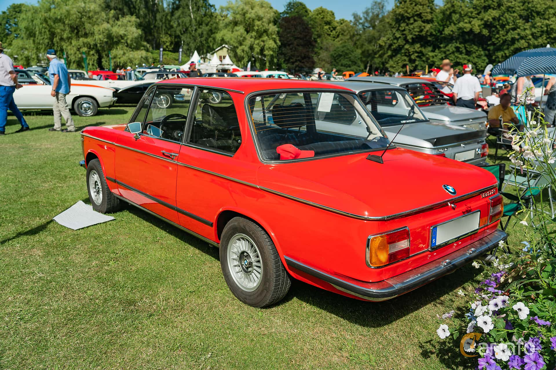 BMW 1802 2-door  Manual, 90hp, 1975 at Ronneby Nostalgia Festival 2019