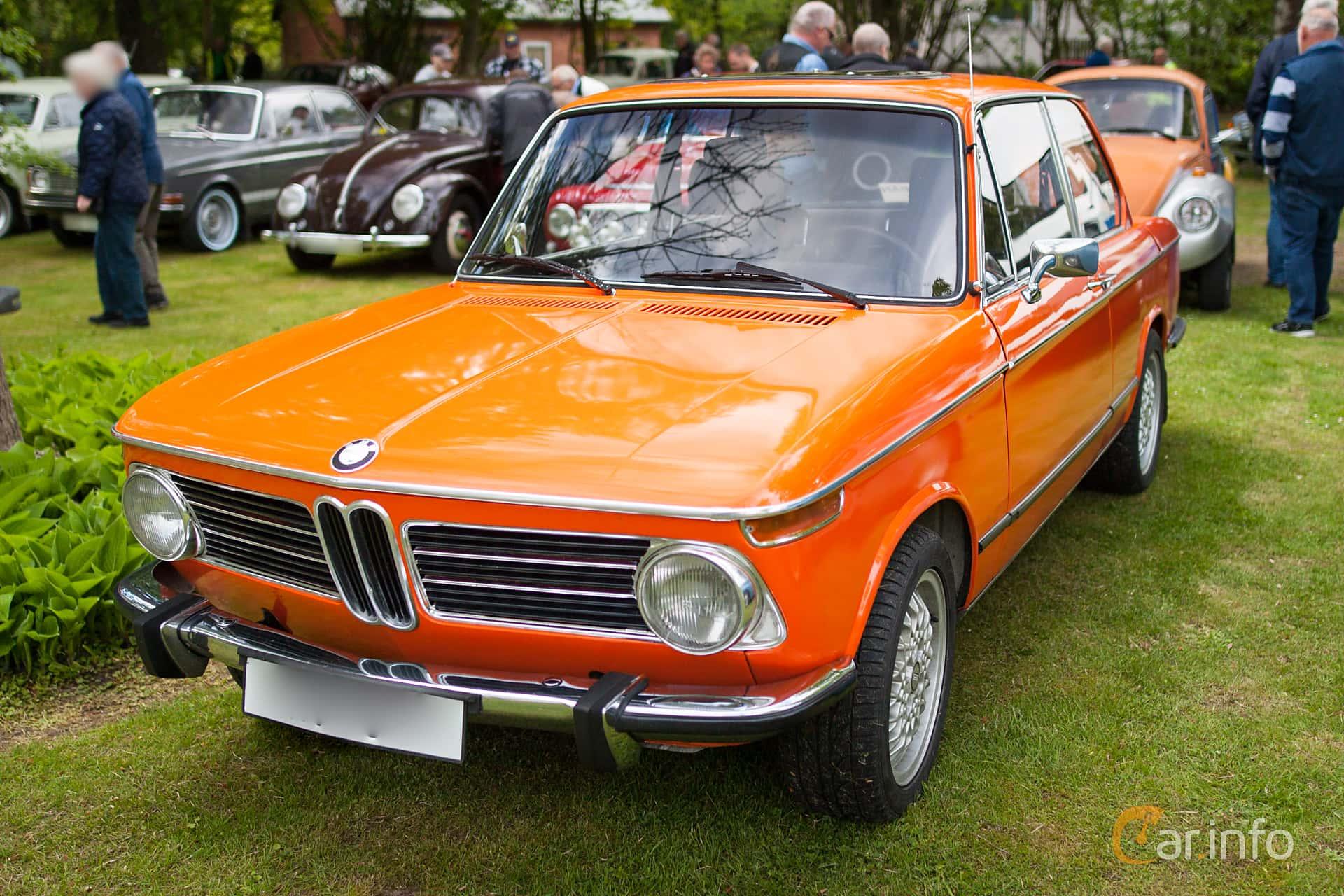 BMW 2002 tii 2-door  Manual, 130hp, 1973 at Billesholms Veteranbilsträff Maj / 2015